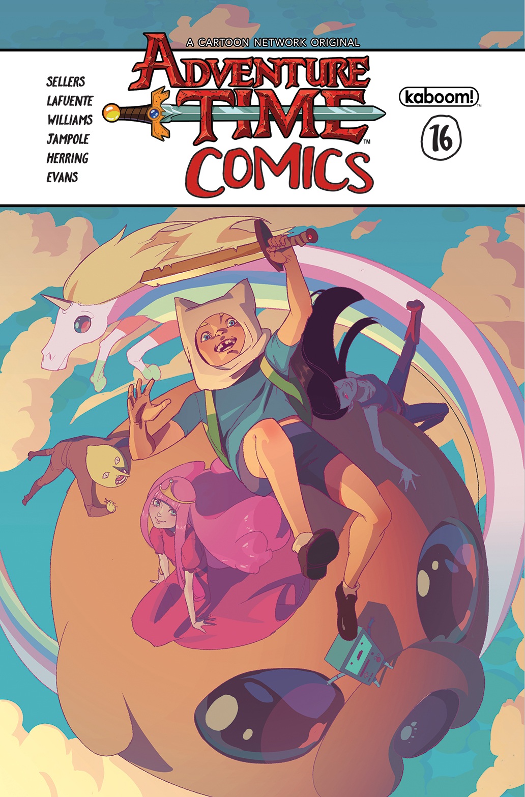 ADVENTURE TIME COMICS #16 SUBSCRIPTION CHANG VAR