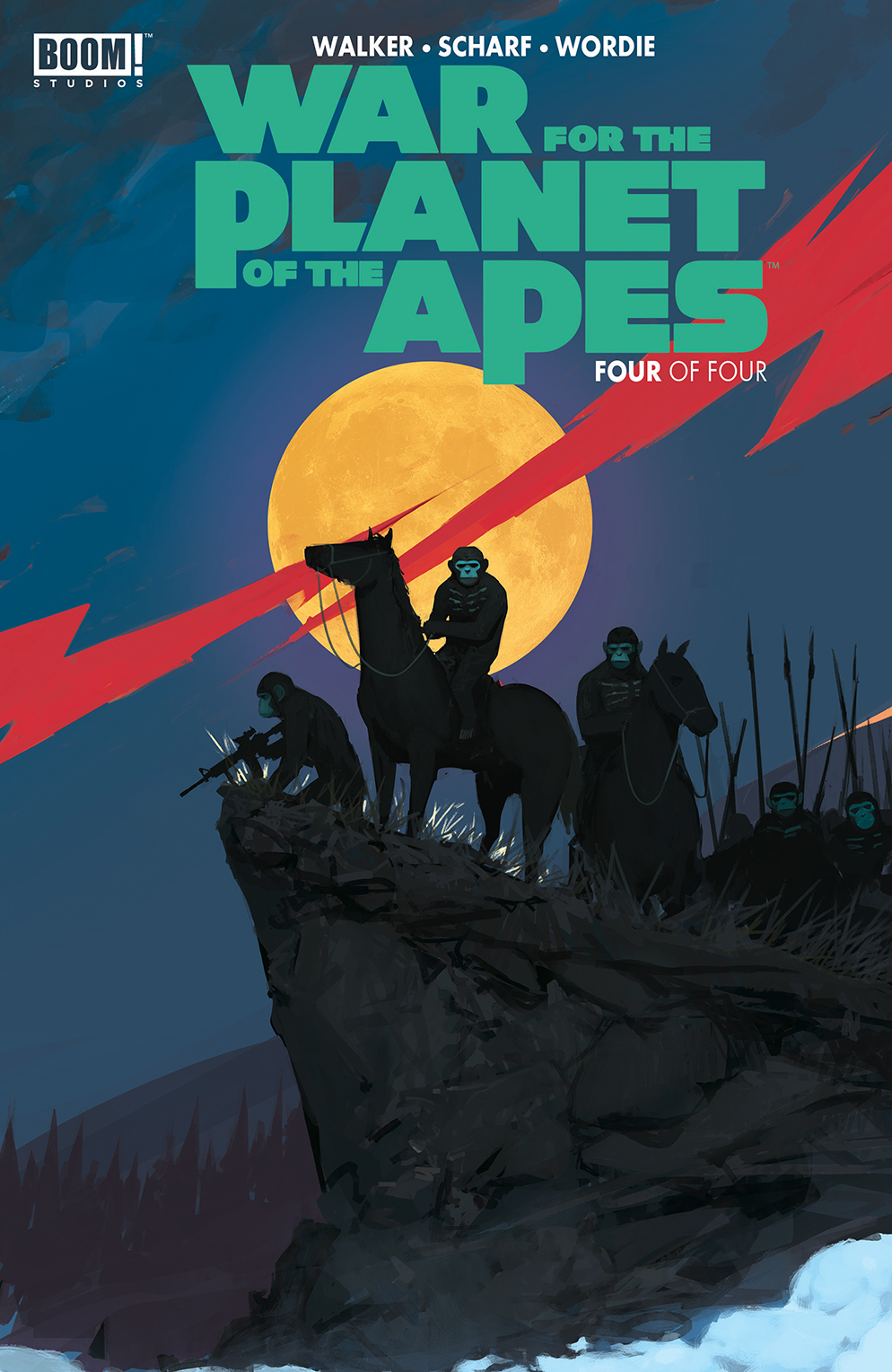 WAR FOR PLANET OF THE APES #4