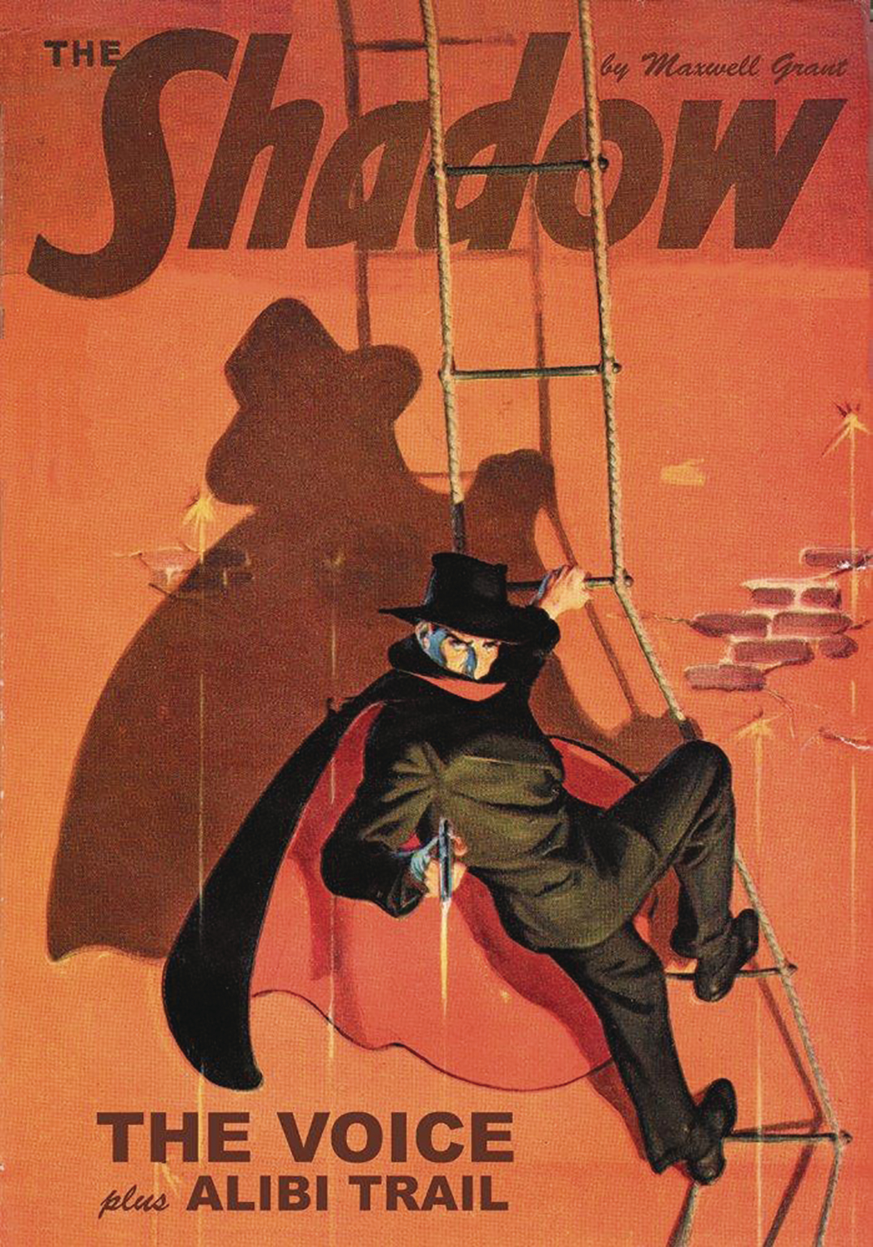 SHADOW DOUBLE NOVEL VOL 123 VOICE & ALIBI TRAIL