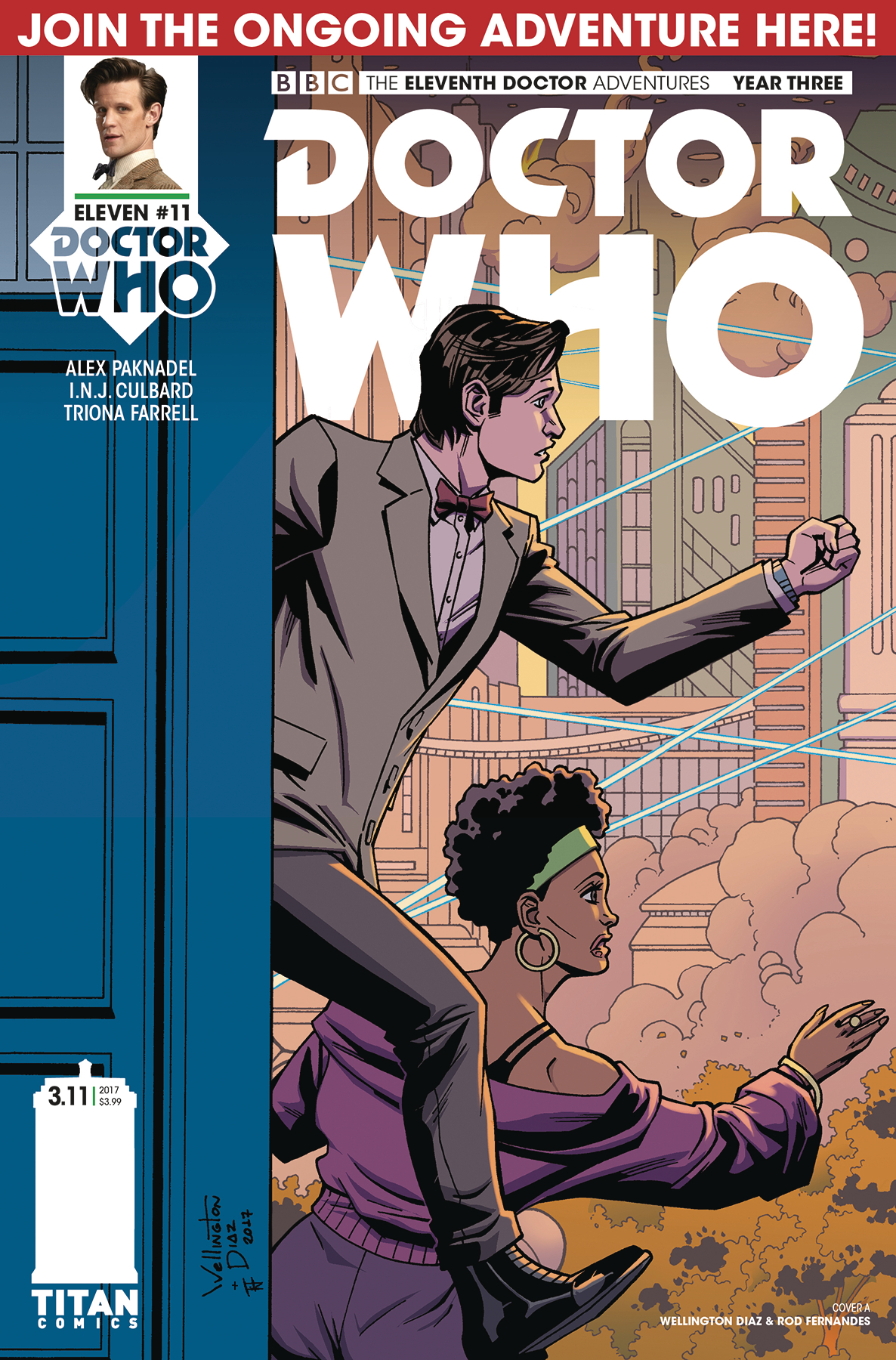 DOCTOR WHO 11TH YEAR THREE #11 CVR A DIAZ