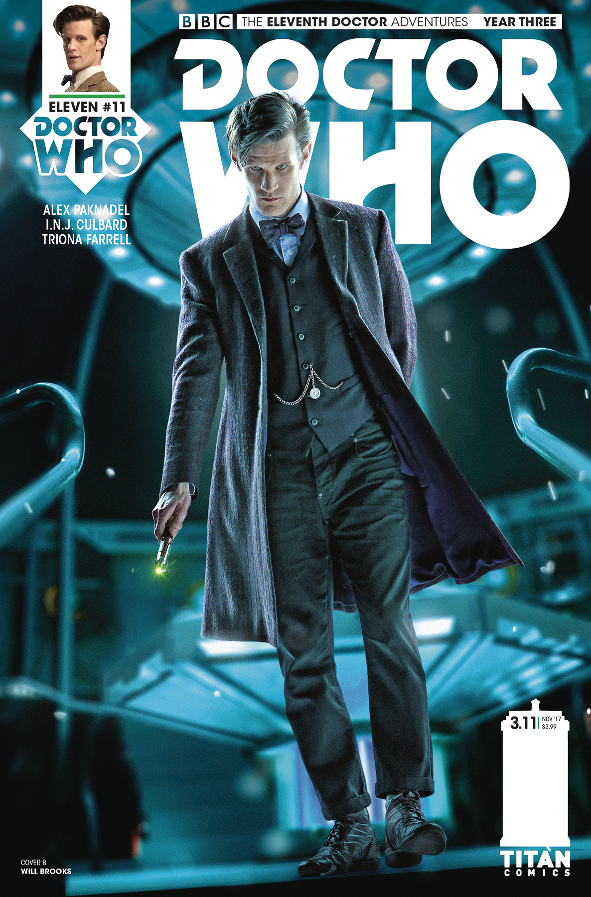 DOCTOR WHO 11TH YEAR THREE #11 CVR B PHOTO