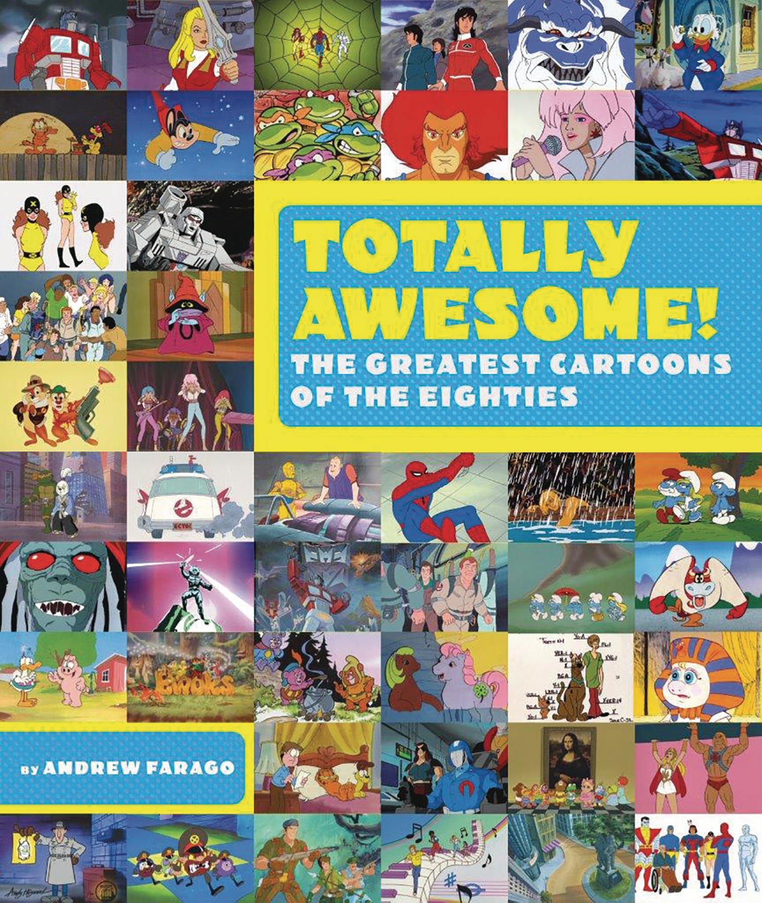 TOTALLY AWESOME GREATEST CARTOONS 80S HC