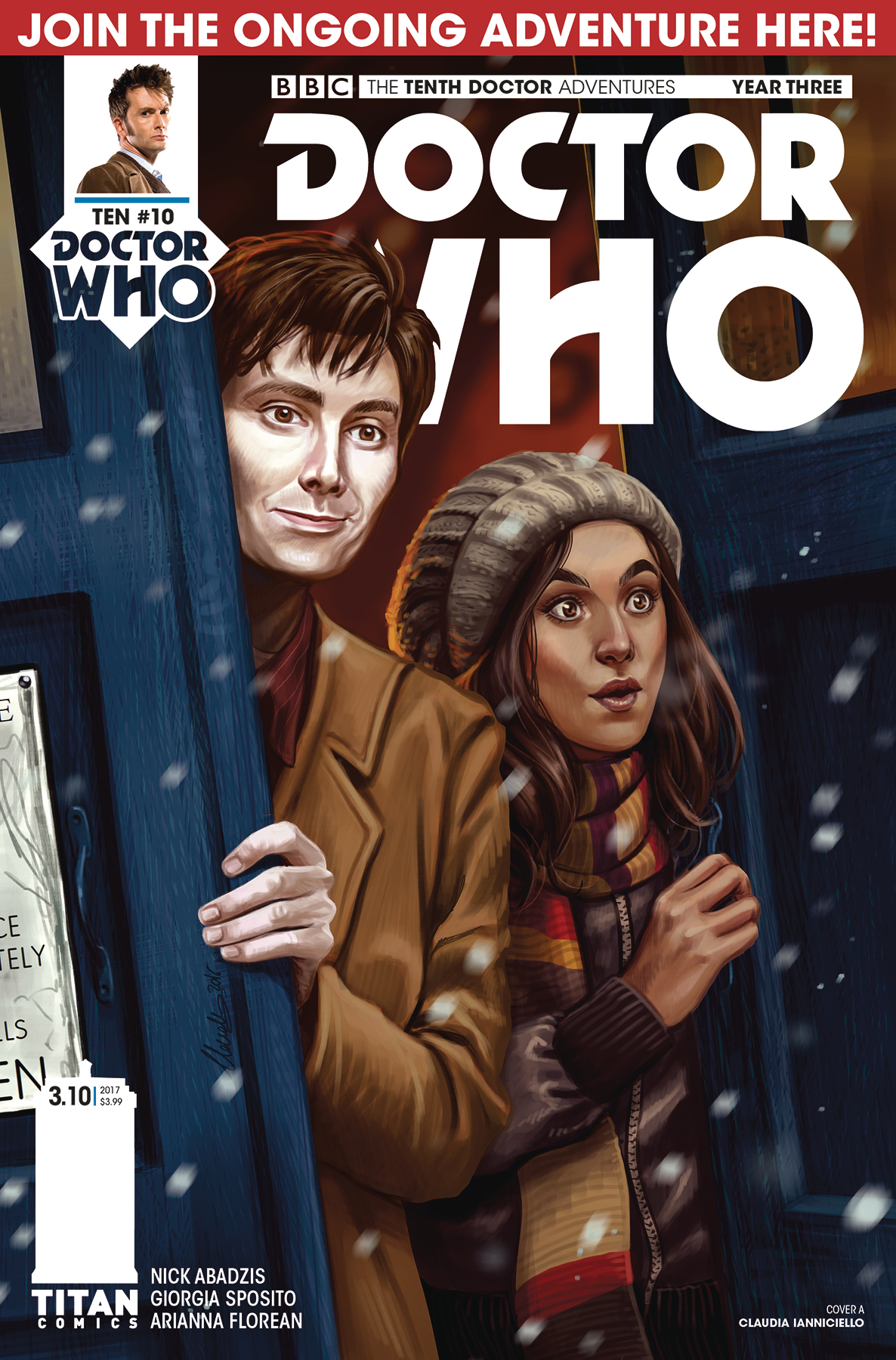 DOCTOR WHO 10TH YEAR THREE #10 CVR A IANNICELLO
