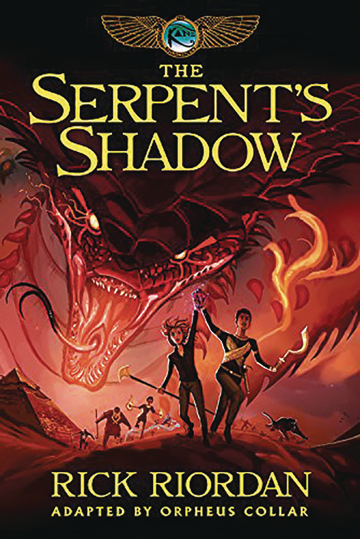 KANE CHRONICLES GN BOOK 03 SERPENTS SHADOW