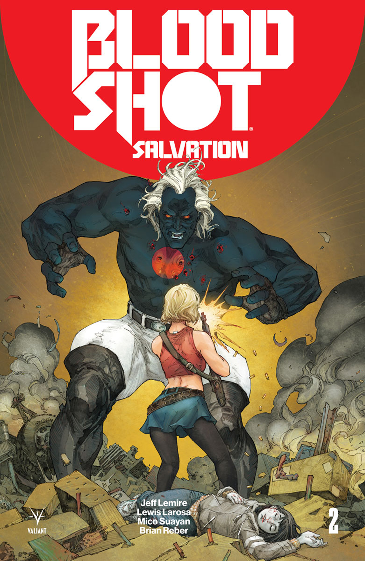 BLOODSHOT SALVATION #2 CVR A ROCAFORT