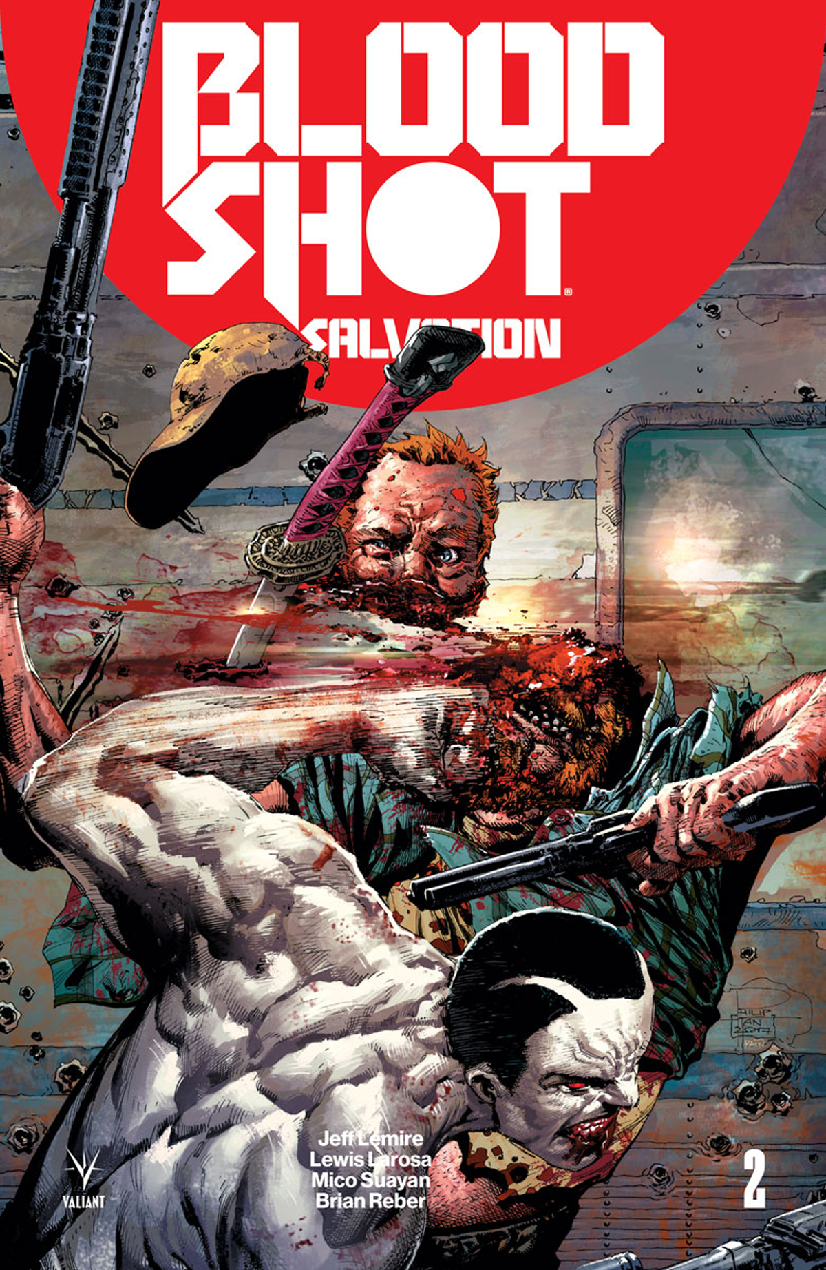 BLOODSHOT SALVATION #2 CVR C TAN