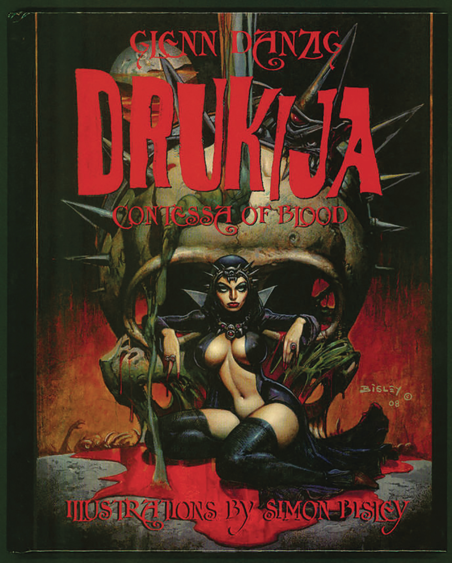 DRUKIJA CONTESSA OF BLOOD LTD ED HC (MR)