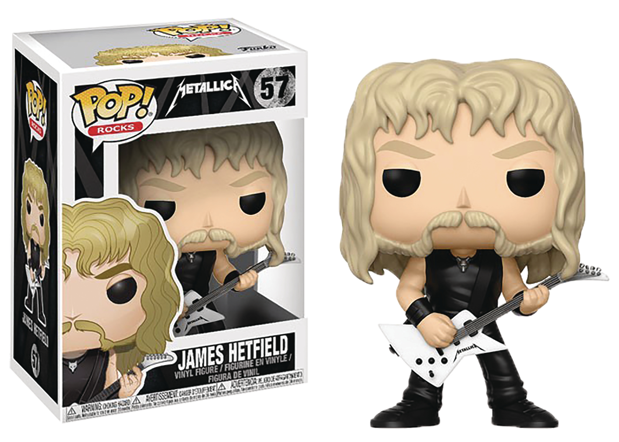 POP METALLICA JAMES HETFIELD VINYL FIG
