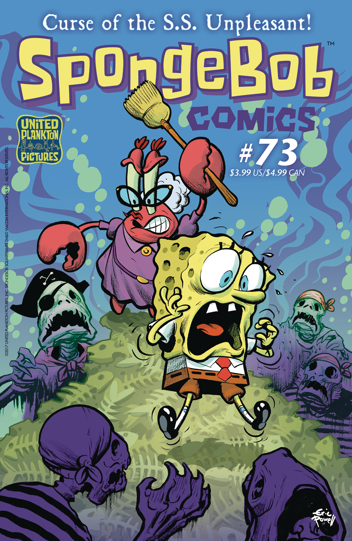 SPONGEBOB COMICS #73