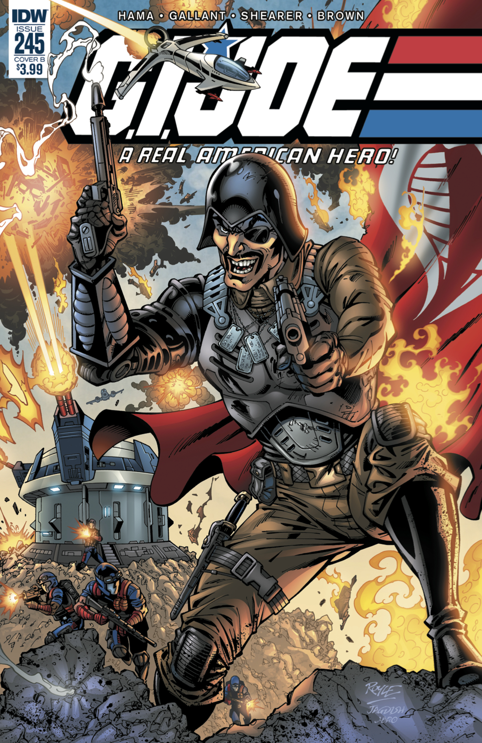 GI JOE A REAL AMERICAN HERO #245 CVR B ROYLE