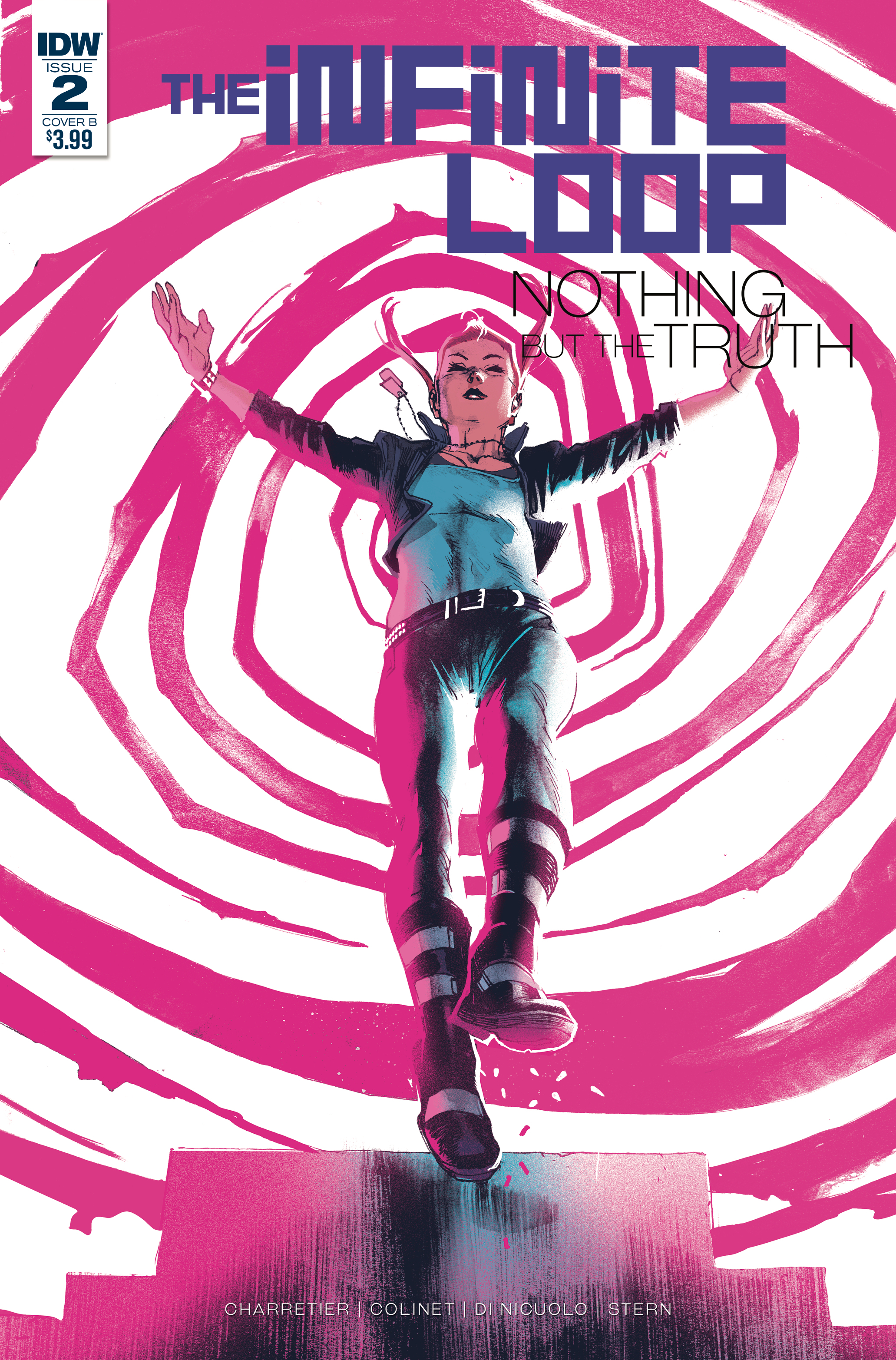 INFINITE LOOP NOTHING BUT THE TRUTH #2 (OF 6) CVR B ALBUQUER