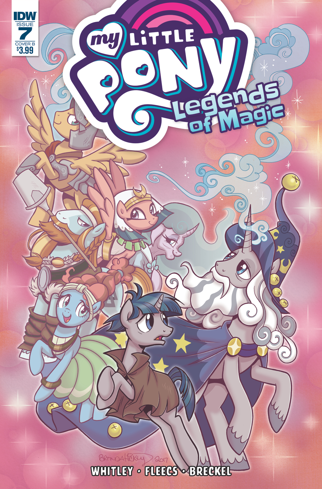 MY LITTLE PONY LEGENDS OF MAGIC #7 CVR B HICKEY