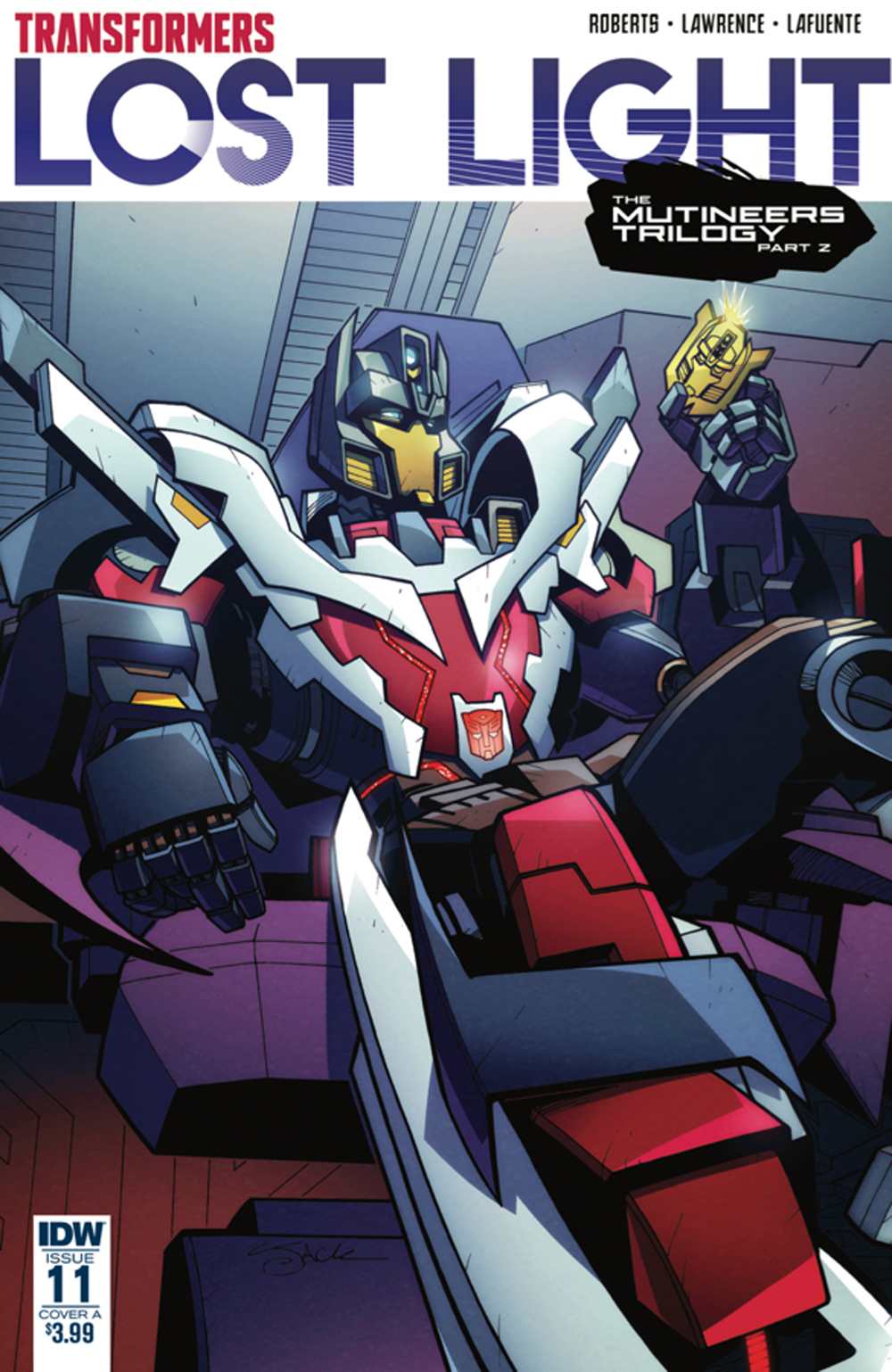 TRANSFORMERS LOST LIGHT #11 CVR A LAWRENCE