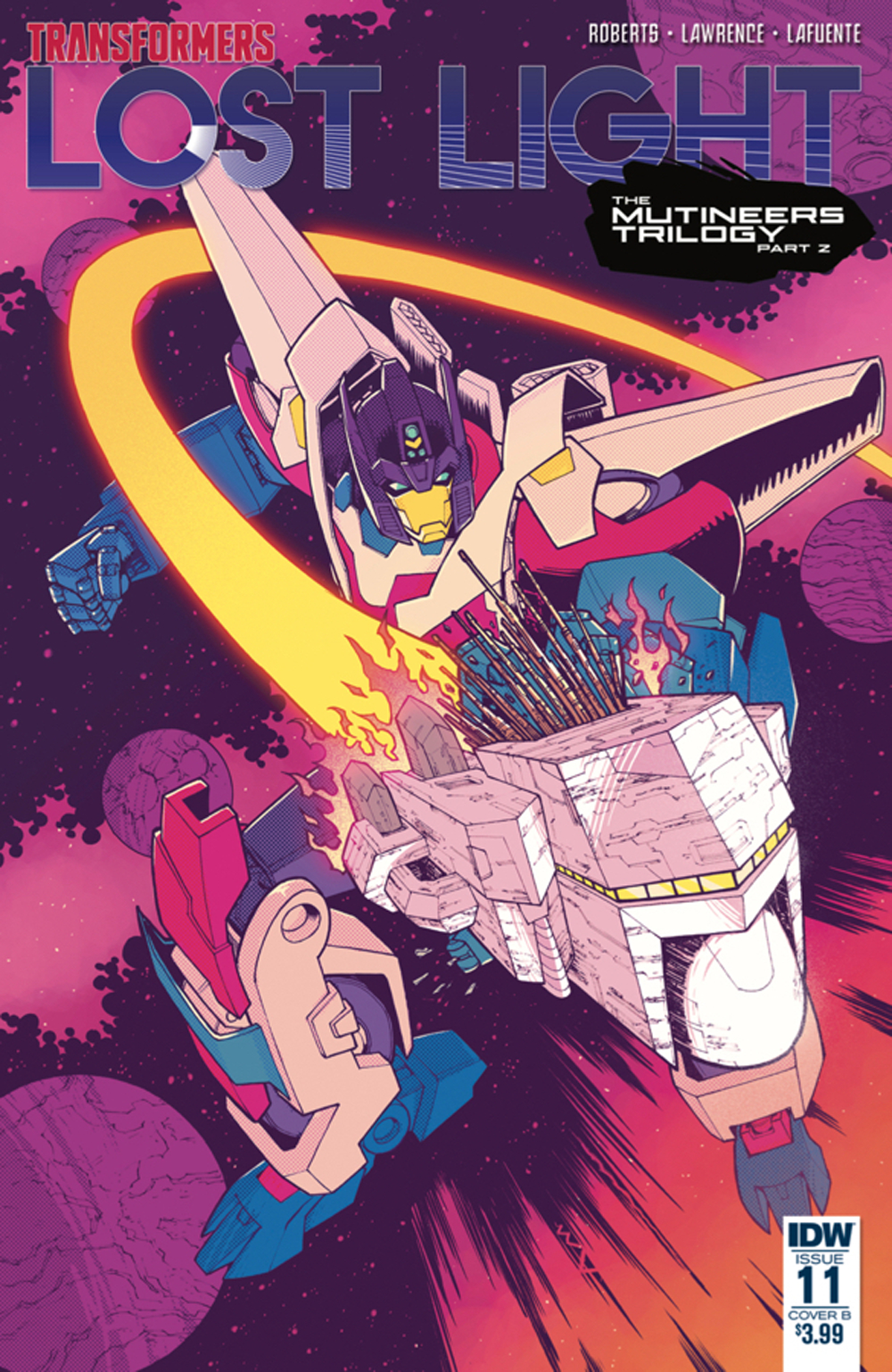 TRANSFORMERS LOST LIGHT #11 CVR B ROCHE
