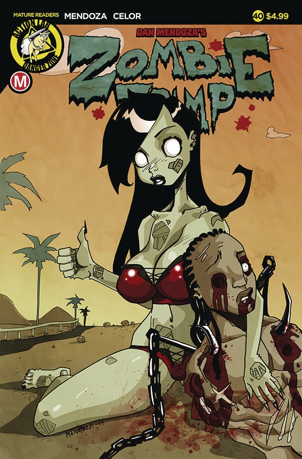 ZOMBIE TRAMP ONGOING #40 CVR A MENDOZA (MR)
