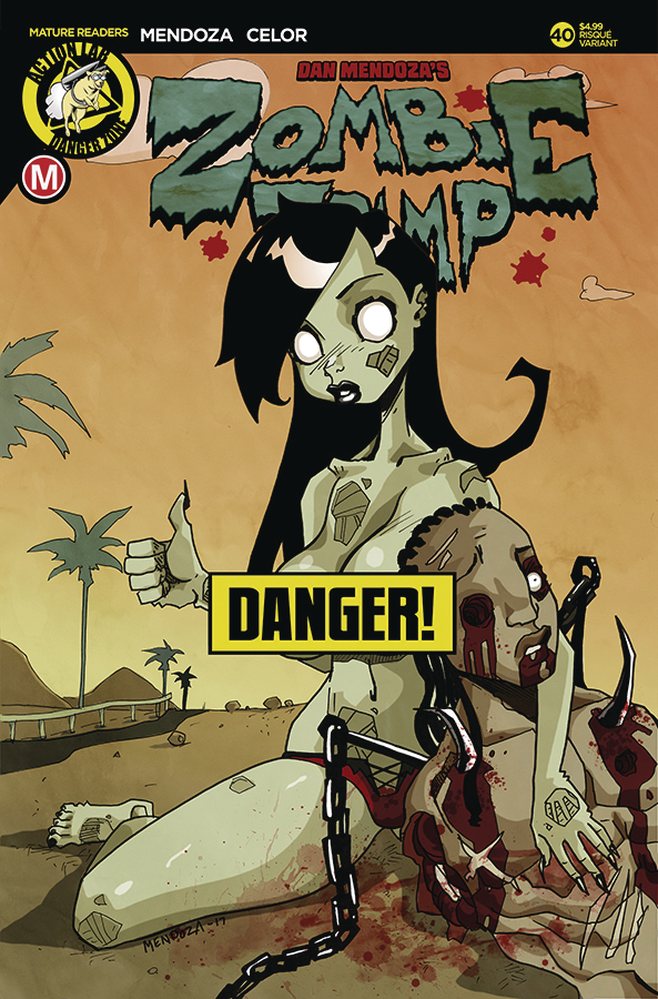 ZOMBIE TRAMP ONGOING #40 CVR B MENDOZA RISQUE (MR)