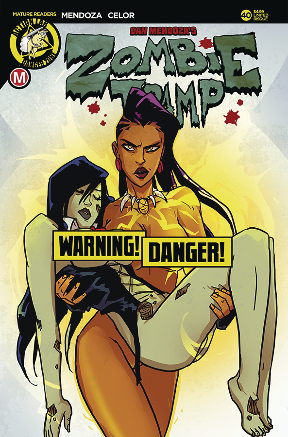 ZOMBIE TRAMP ONGOING #40 CVR D RISQUE BESTIES (MR)