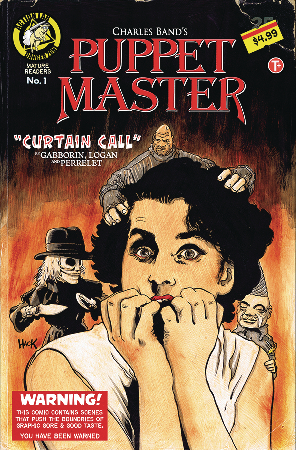 PUPPET MASTER CURTAIN CALL #1 CVR B HACK (MR)