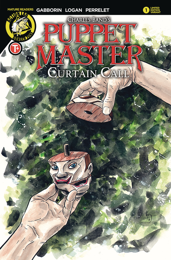 PUPPET MASTER CURTAIN CALL #1 CVR C WILLIAMS PAINTED (MR)