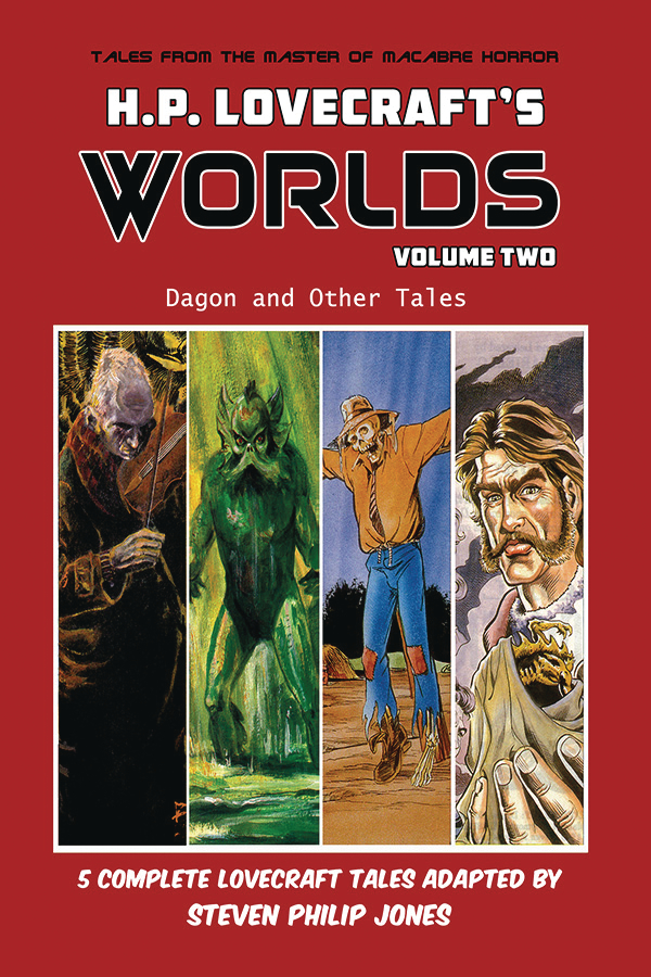 HP LOVECRAFT WORLDS TP VOL 02 DAGON AND OTHER