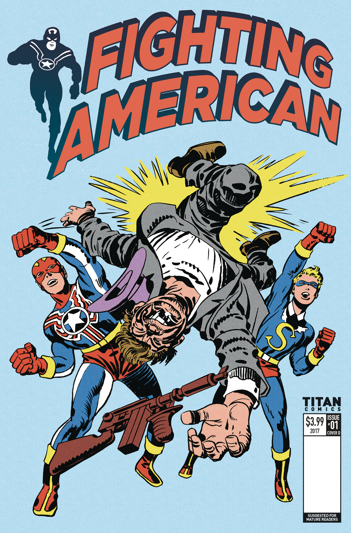FIGHTING AMERICAN #1 CVR C KIRBY