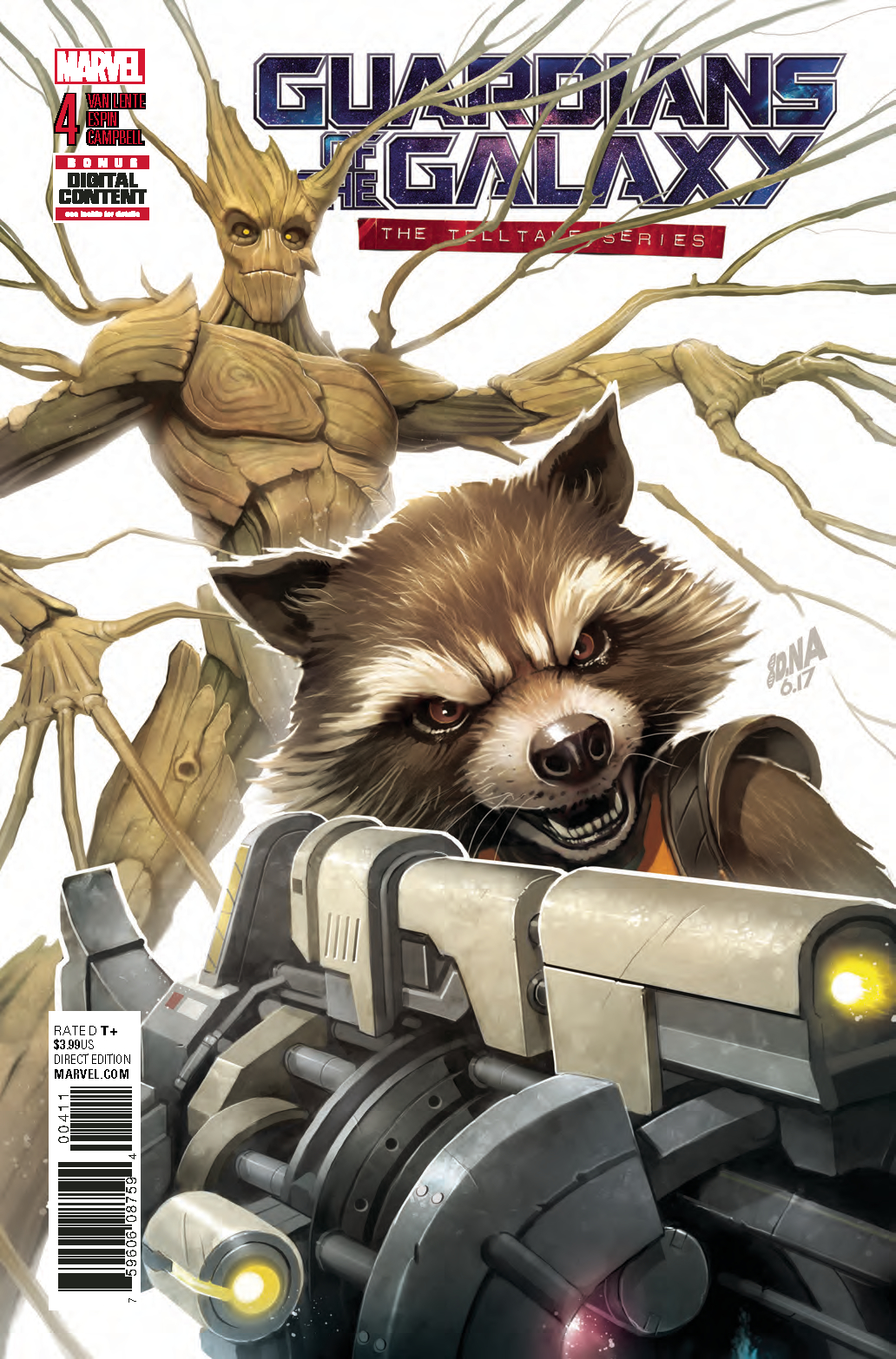 GUARDIANS OF GALAXY TELLTALE SERIES #4 (OF 5)