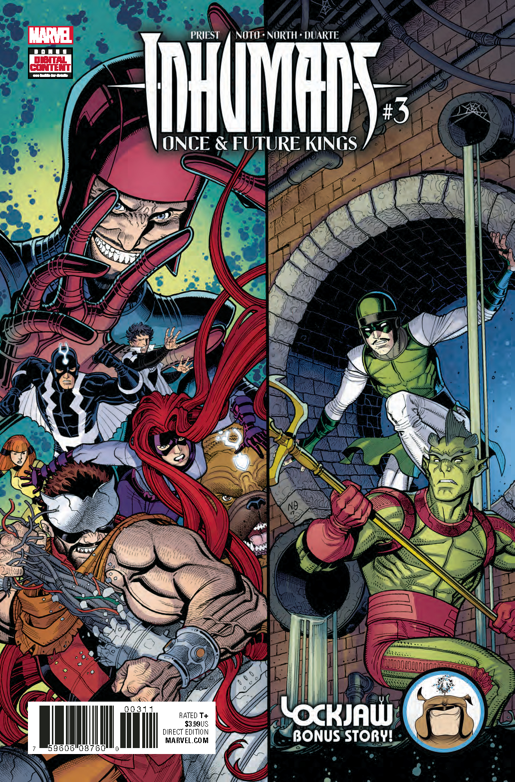 INHUMANS ONCE FUTURE KINGS #3