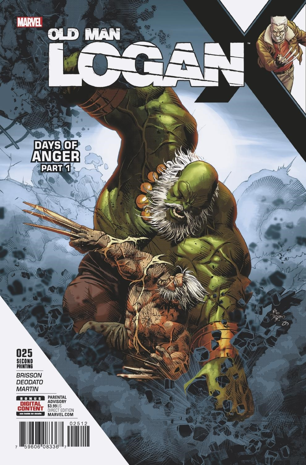 OLD MAN LOGAN #25 2ND PTG DEODATO VAR