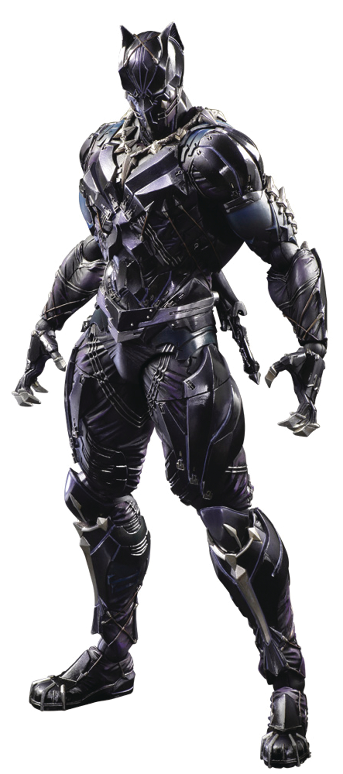 MARVEL UNIVERSE VARIANT PLAY ARTS KAI BLACK PANTHER AF