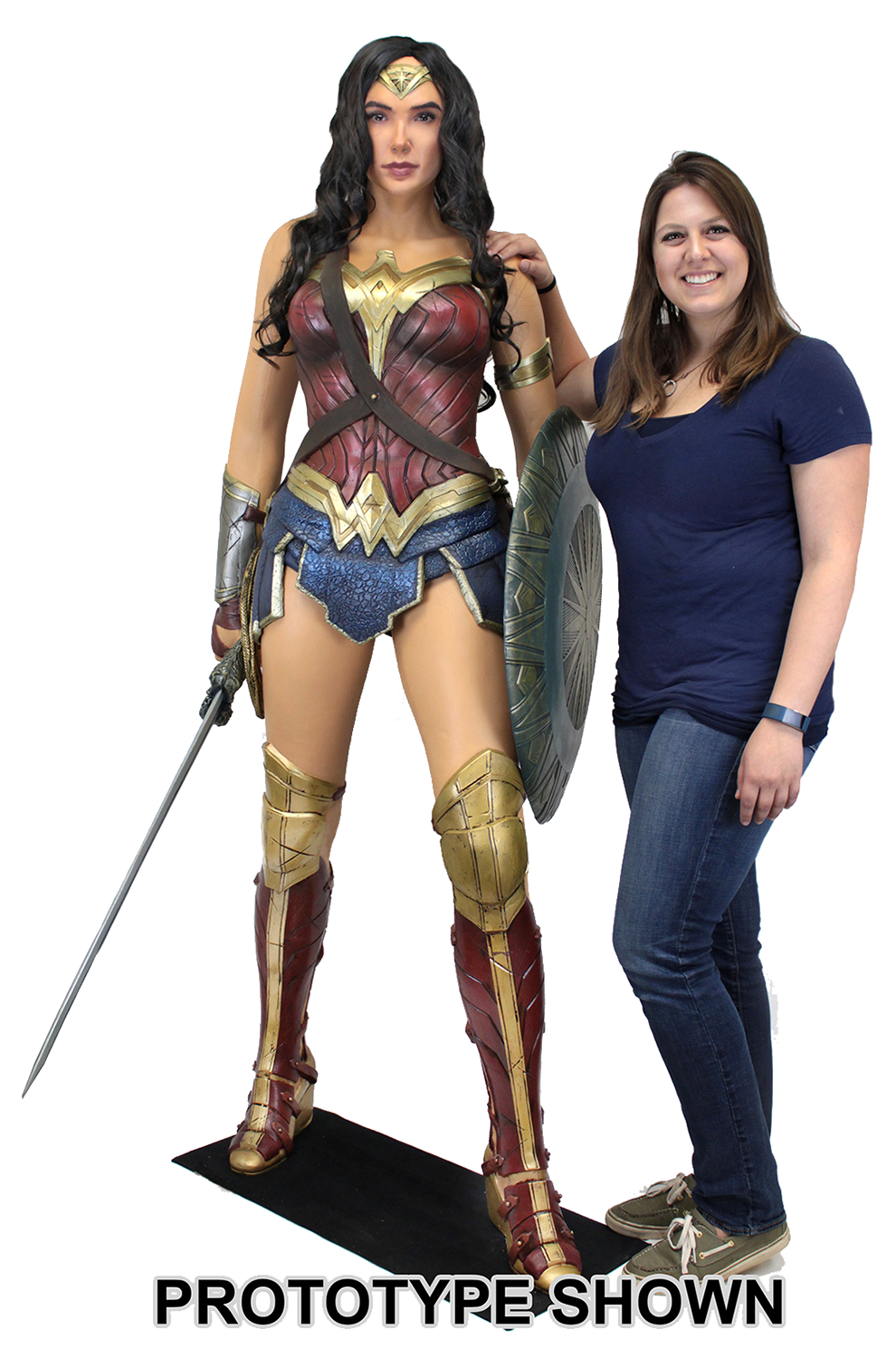 WONDER WOMAN MOVIE WONDER WOMAN 1/1 FOAM REPLICA