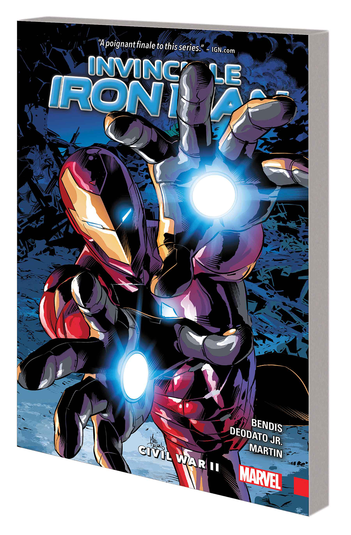 INVINCIBLE IRON MAN TP VOL 03 CIVIL WAR II