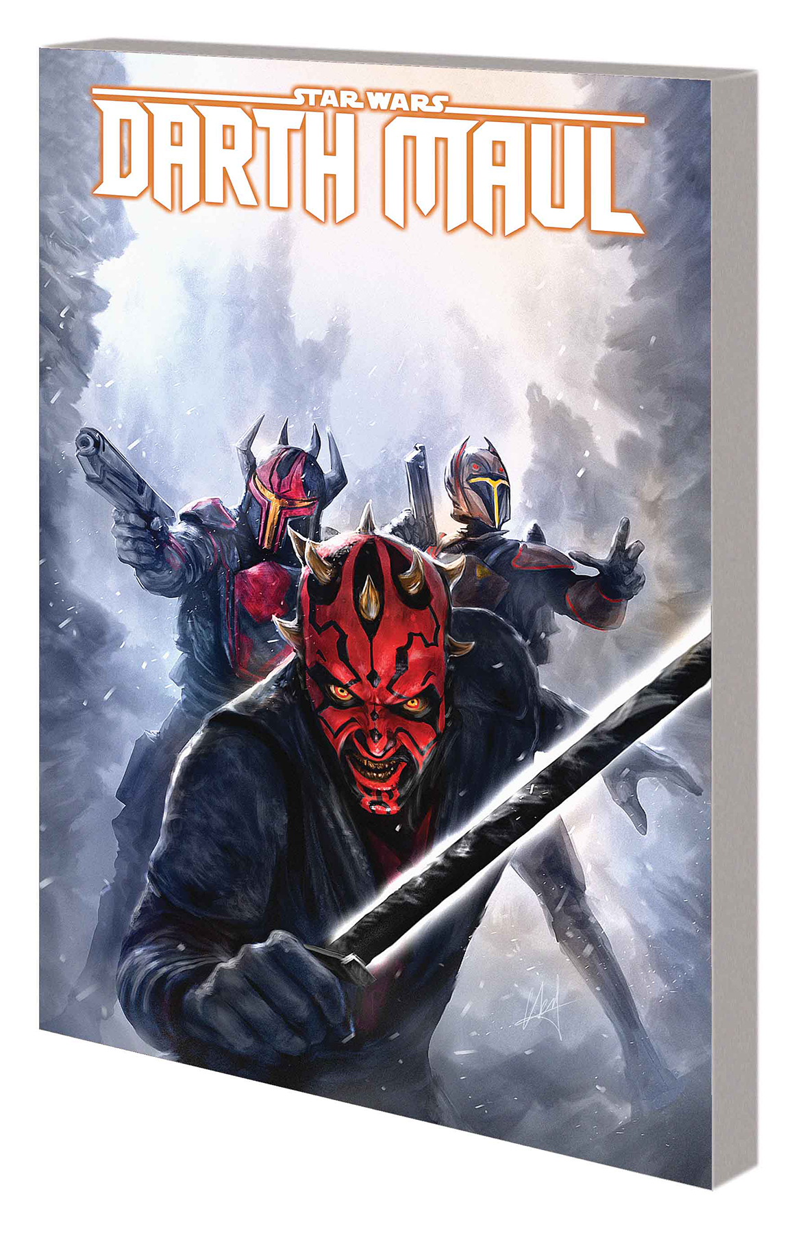 STAR WARS DARTH MAUL SON DATHOMIR TP NEW PTG