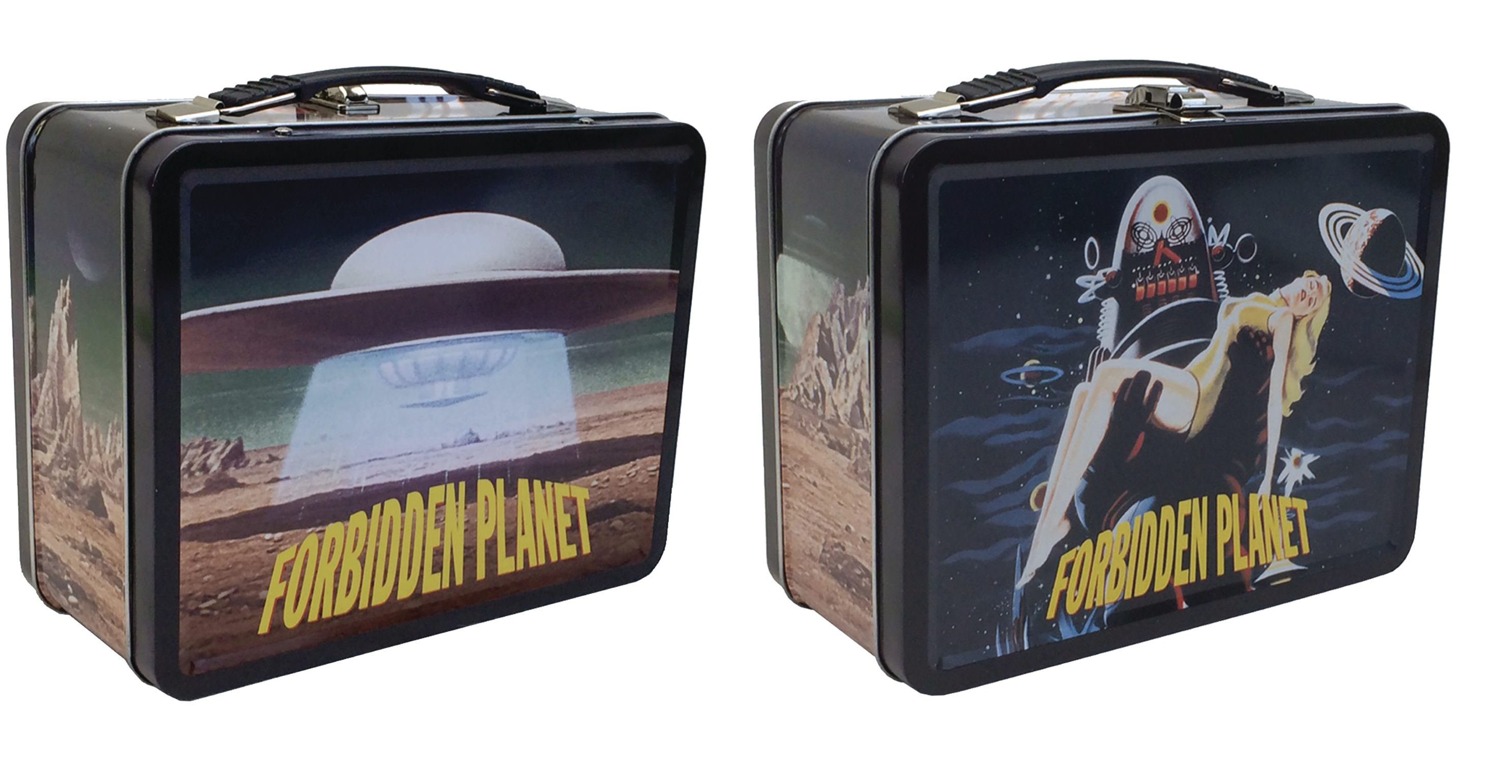 FORBIDDEN PLANET ROBBIE THE ROBOT TIN TOTE