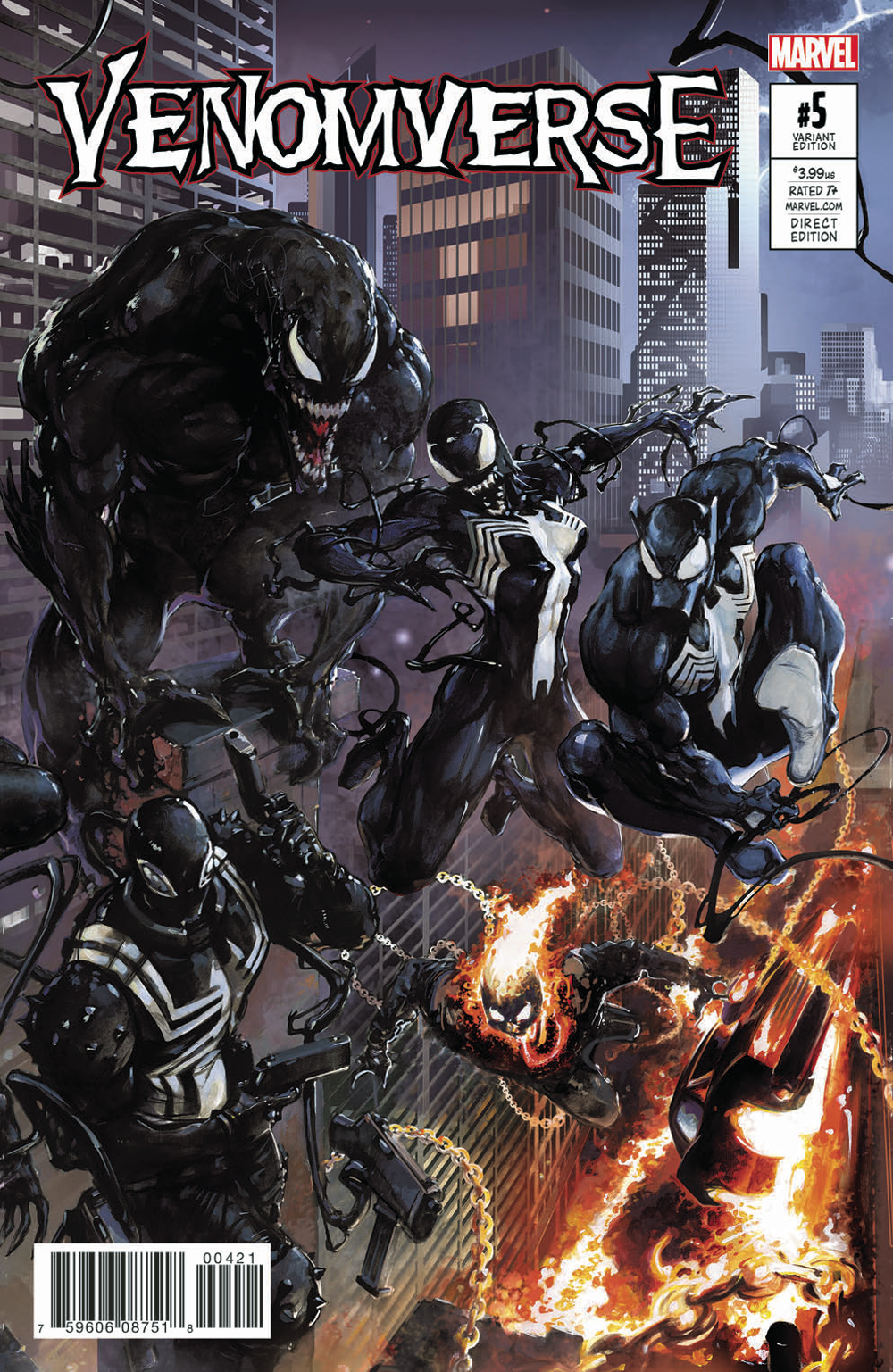 VENOMVERSE #5 (OF 5) CRAIN CONNECTING VAR