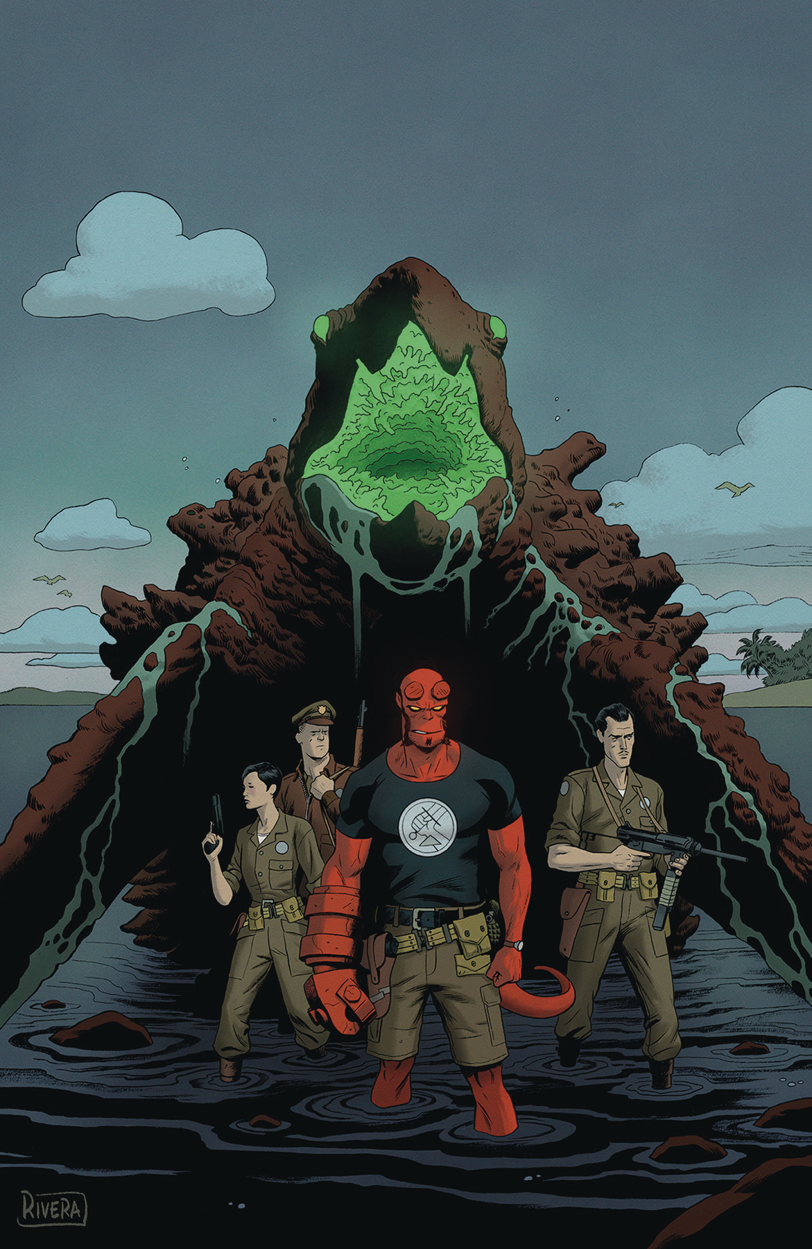 HELLBOY & BPRD 1955 OCCULT INTELLIGENCE #2