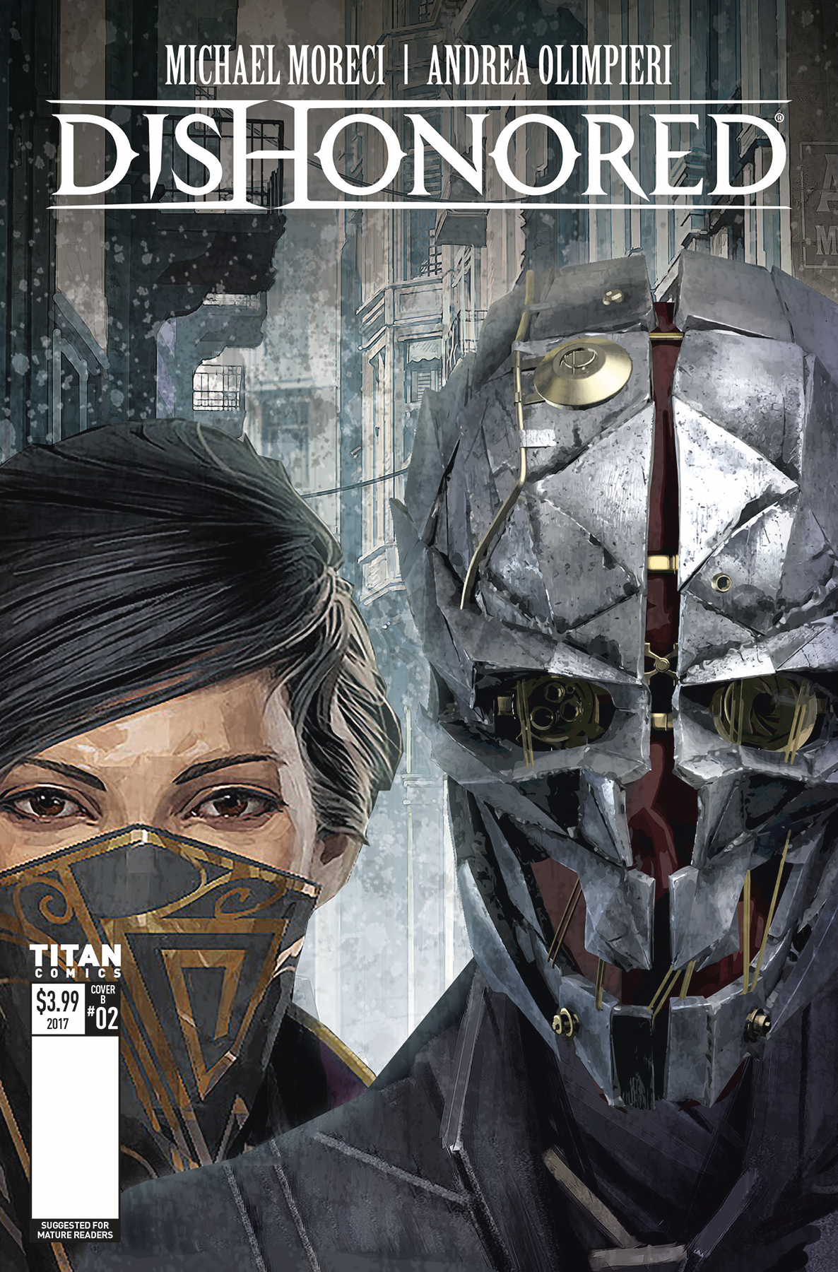 DISHONORED PEERESS AND THE PRICE #2 CVR B GAME VAR