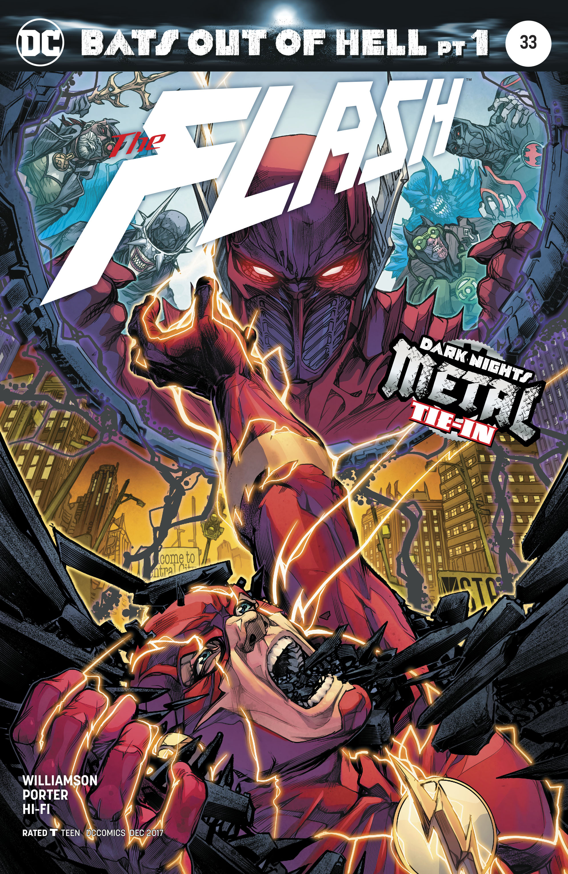 FLASH #33 VAR ED METAL
