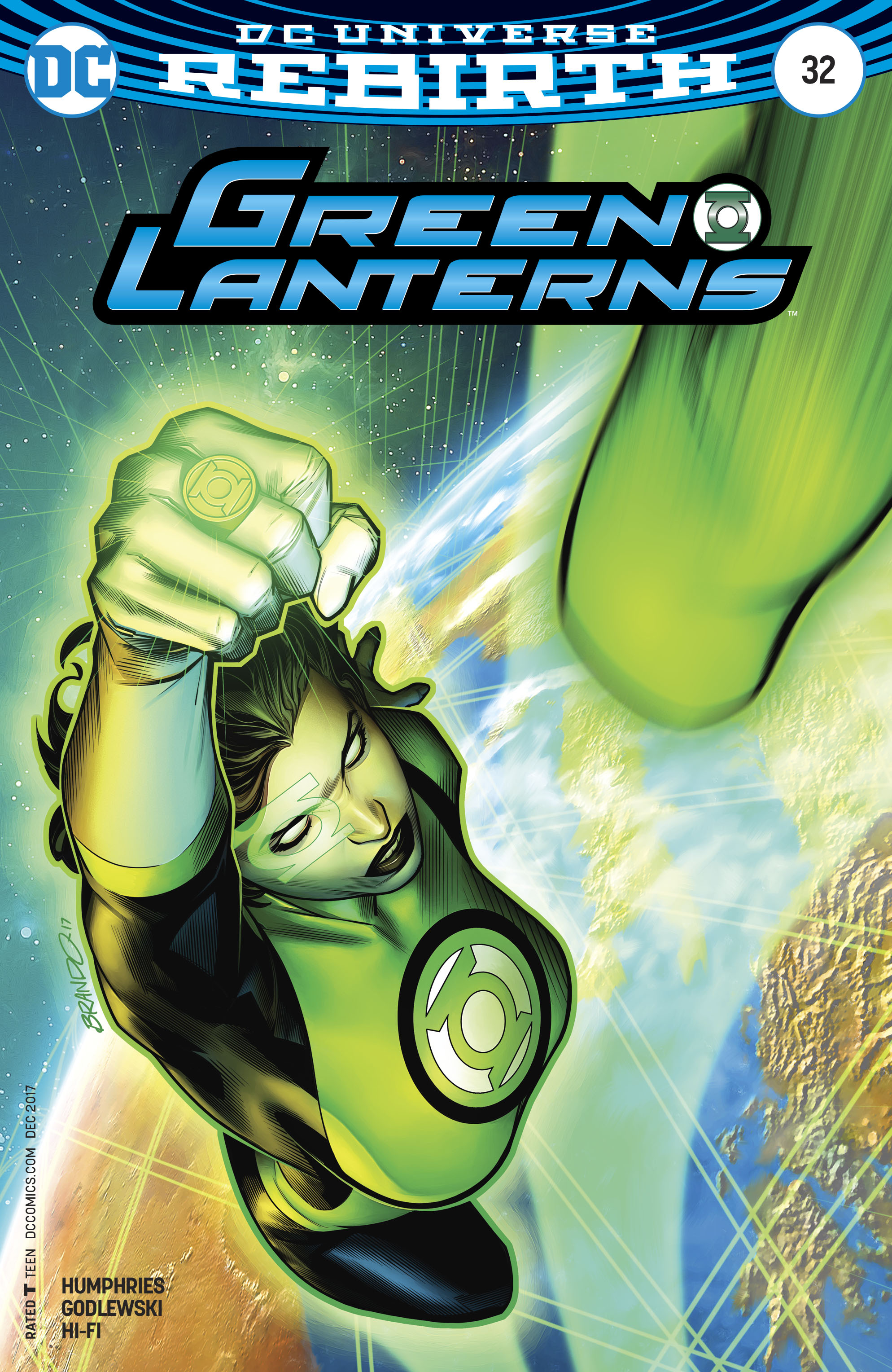 GREEN LANTERNS #32 VAR ED
