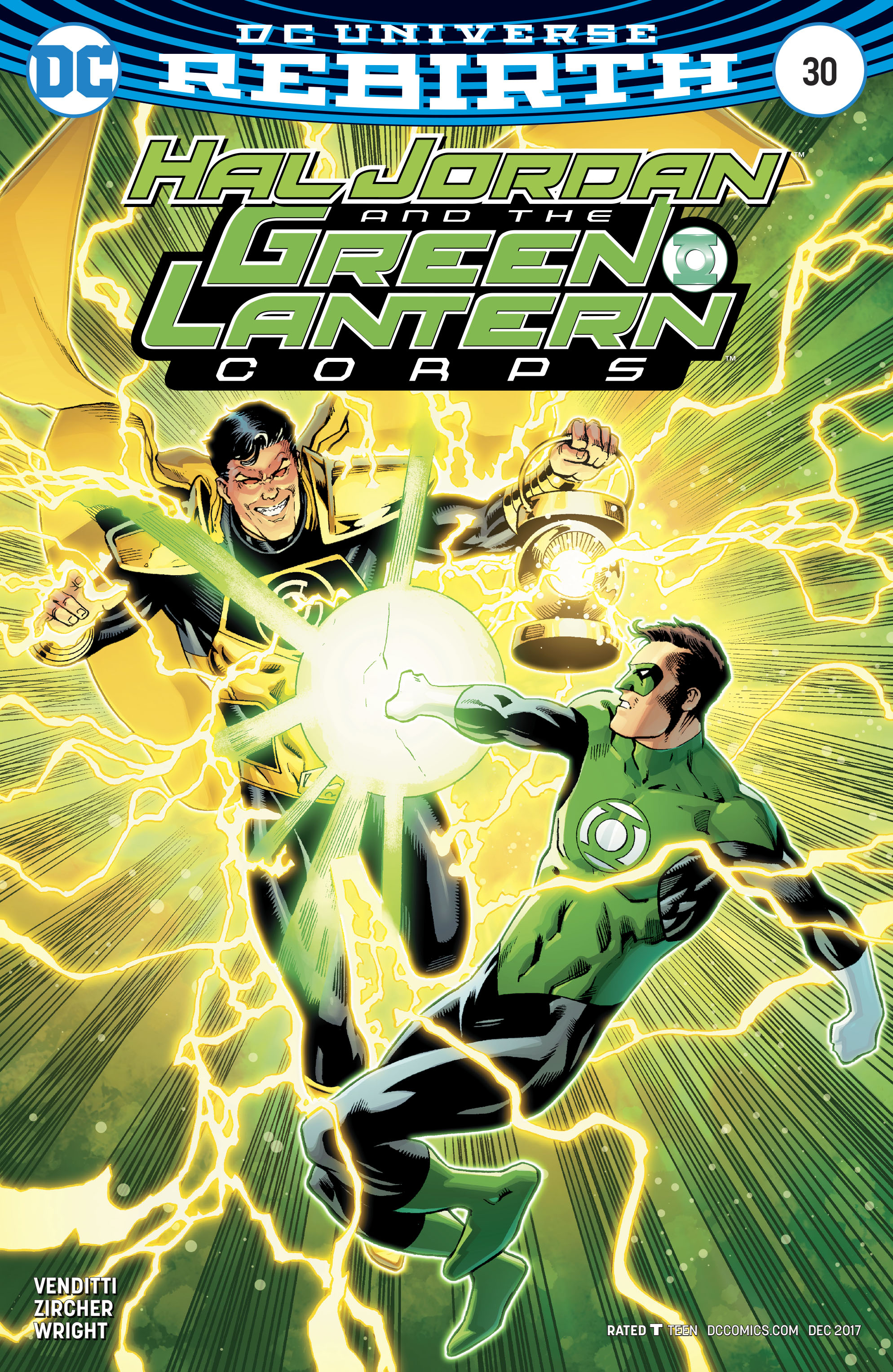 HAL JORDAN AND THE GREEN LANTERN CORPS #30 VAR ED