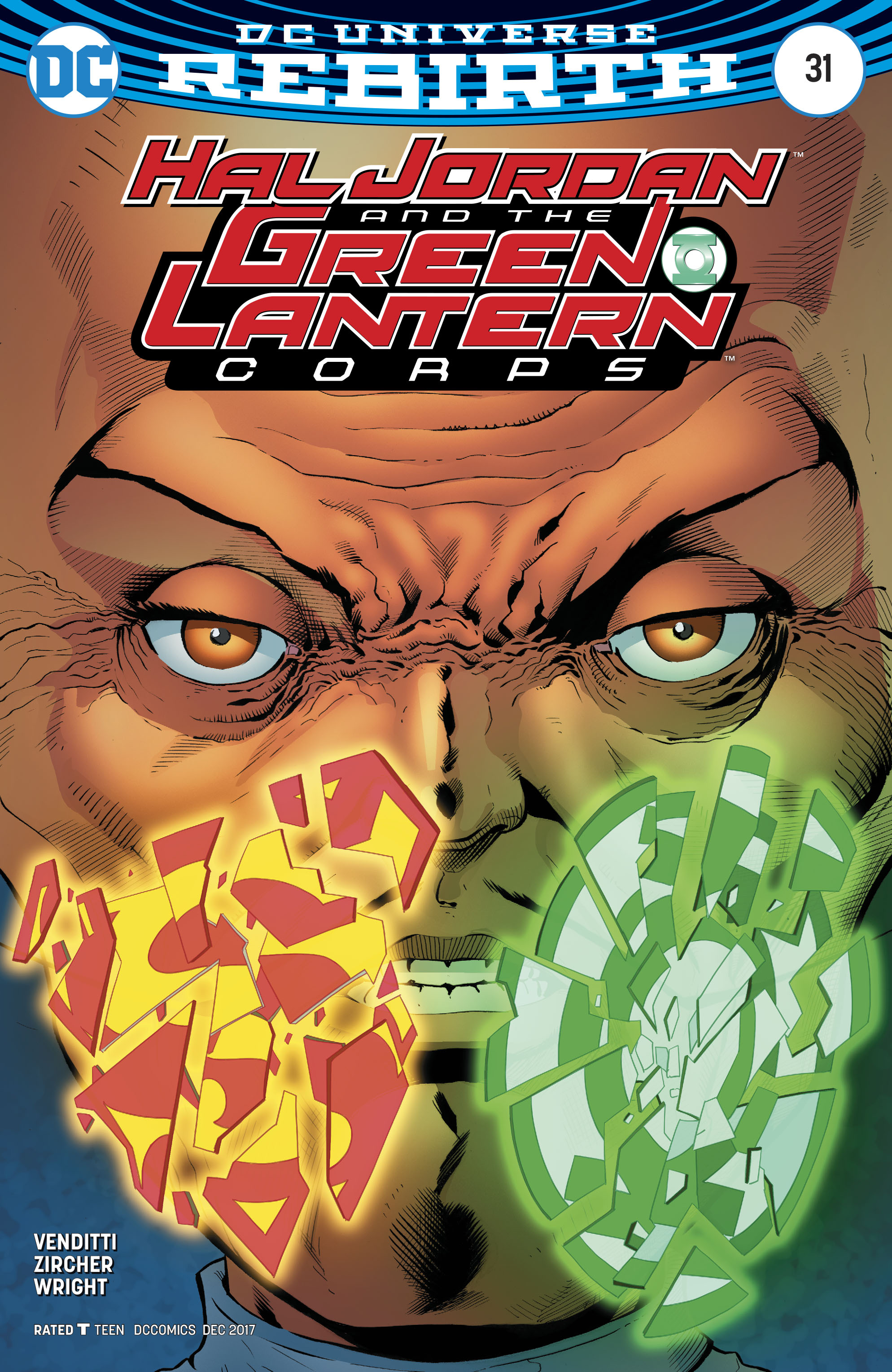 HAL JORDAN AND THE GREEN LANTERN CORPS #31 VAR ED