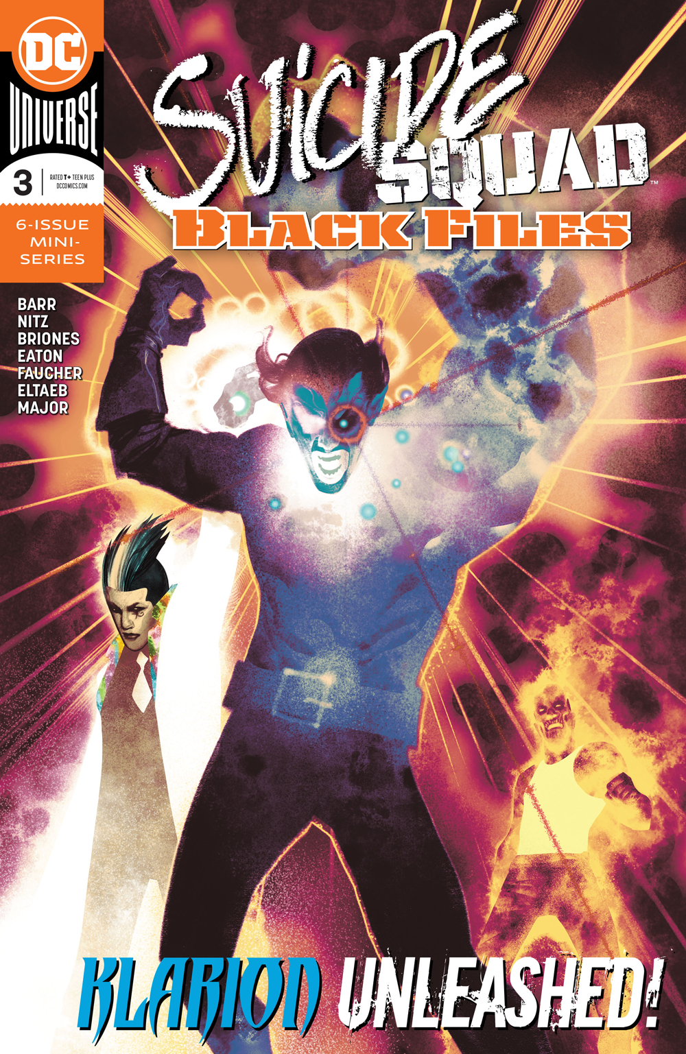 SUICIDE SQUAD BLACK FILES #3 (OF 6) (RES)