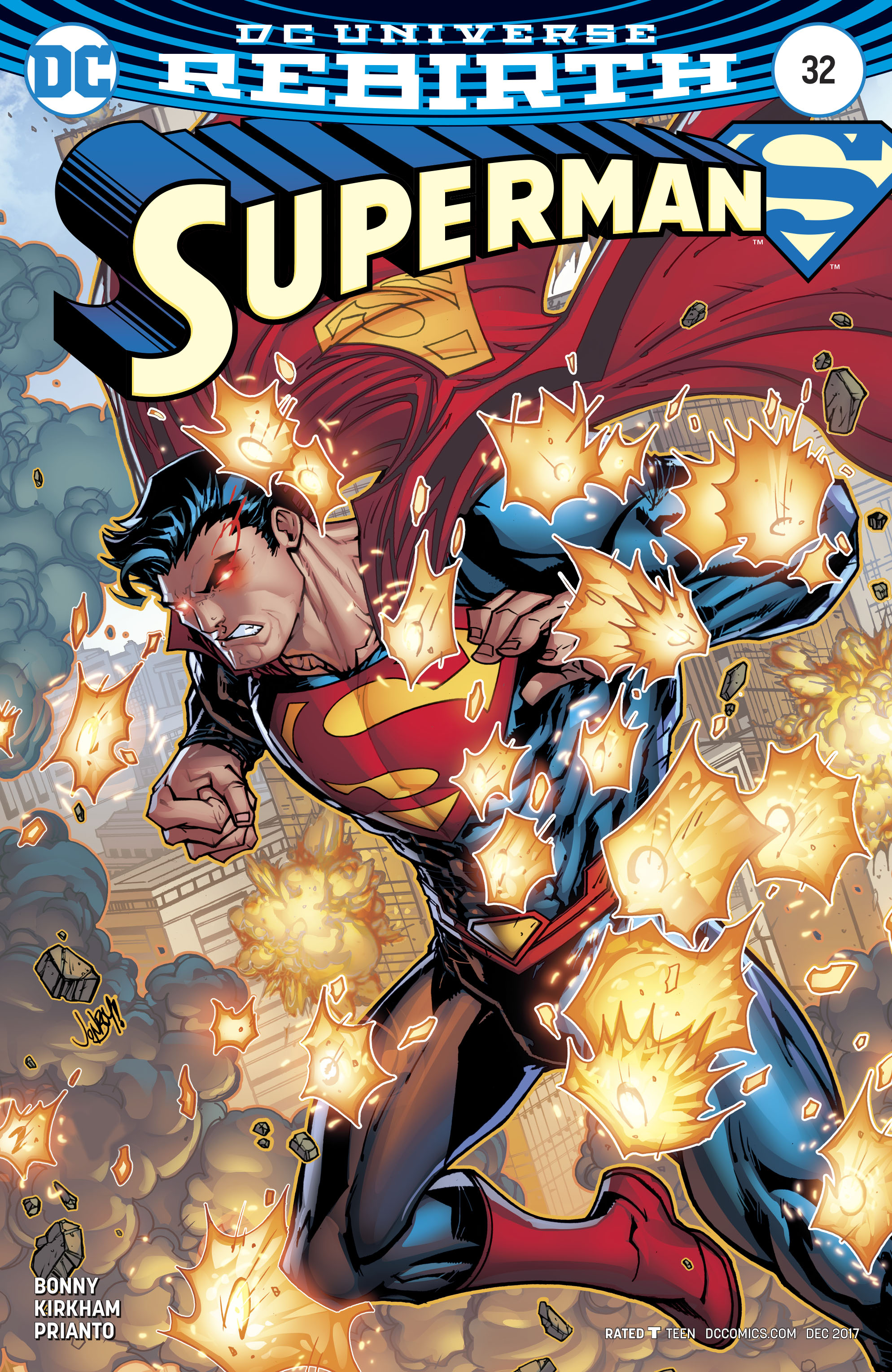 SUPERMAN #32 VAR ED