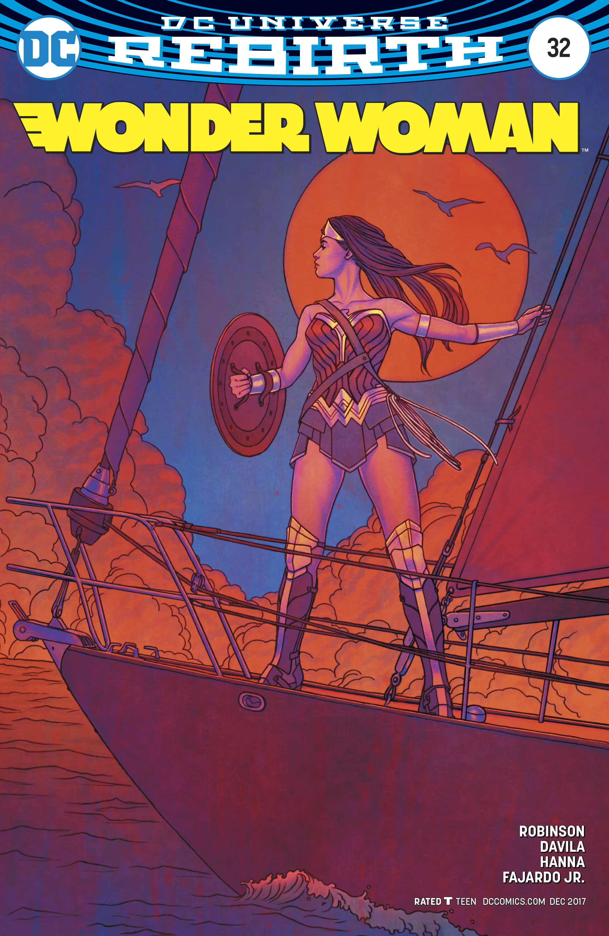 WONDER WOMAN #32 VAR ED