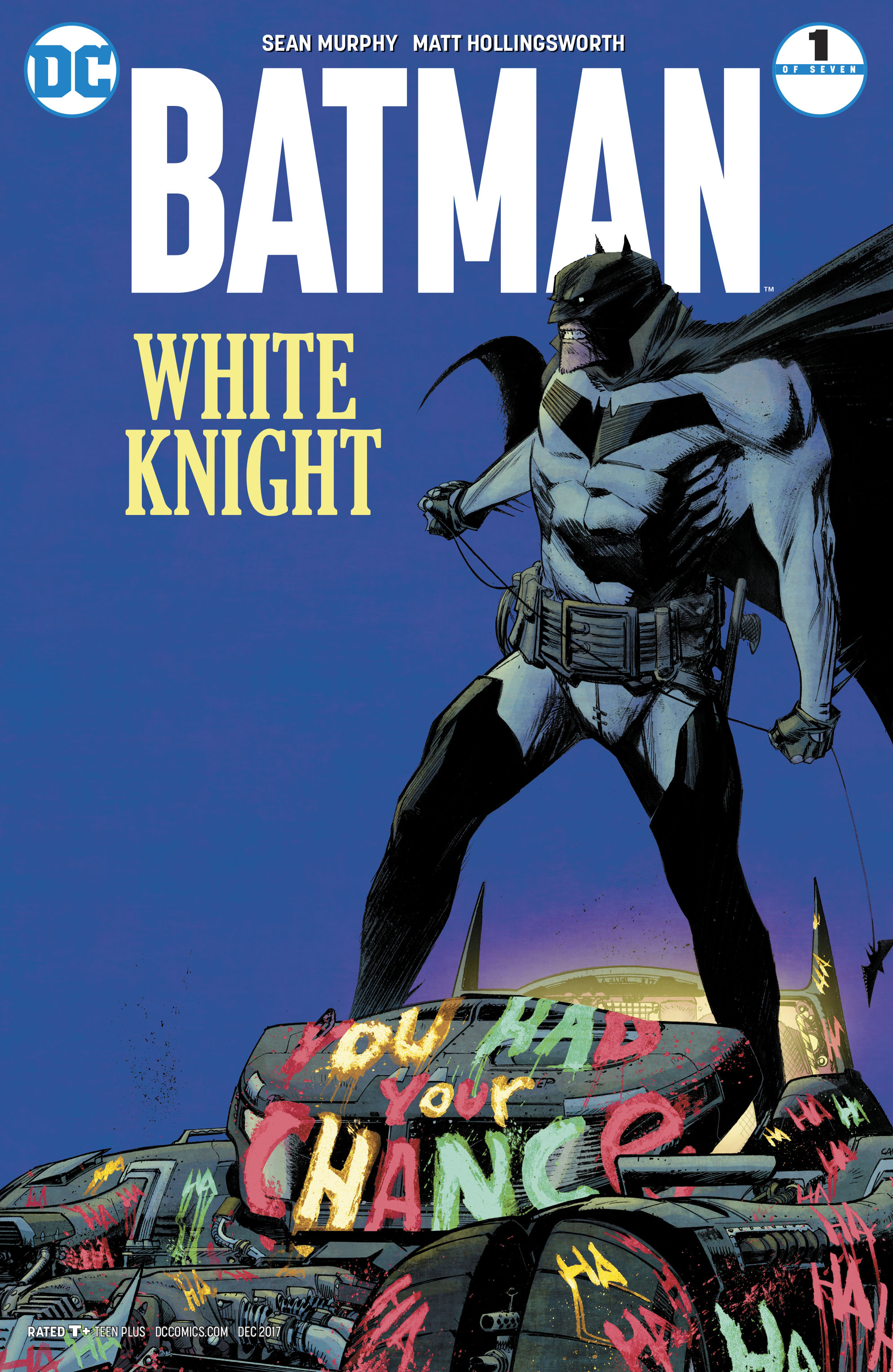 BATMAN WHITE KNIGHT #1
