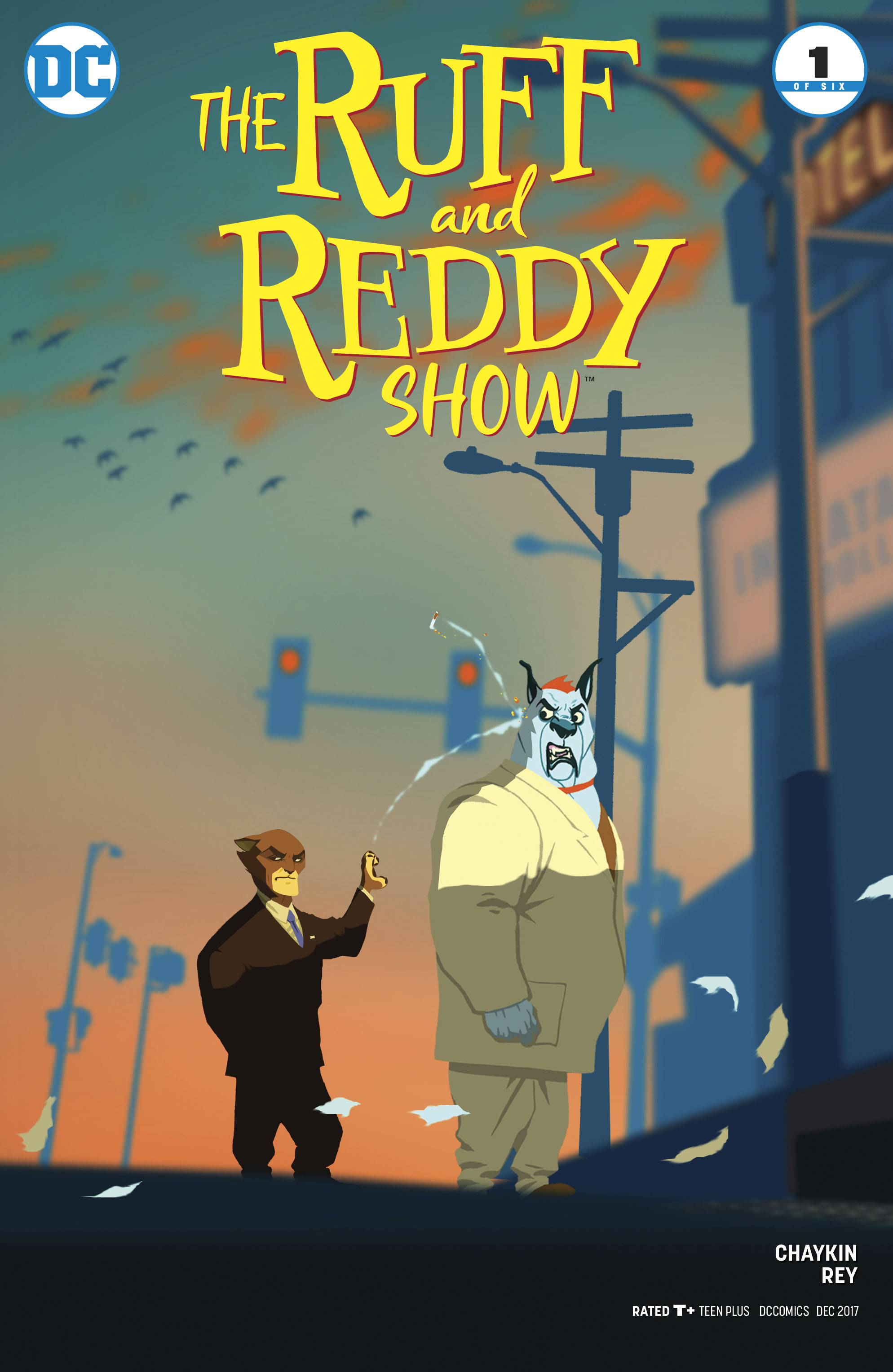 RUFF & REDDY SHOW #1 (OF 6) VAR ED