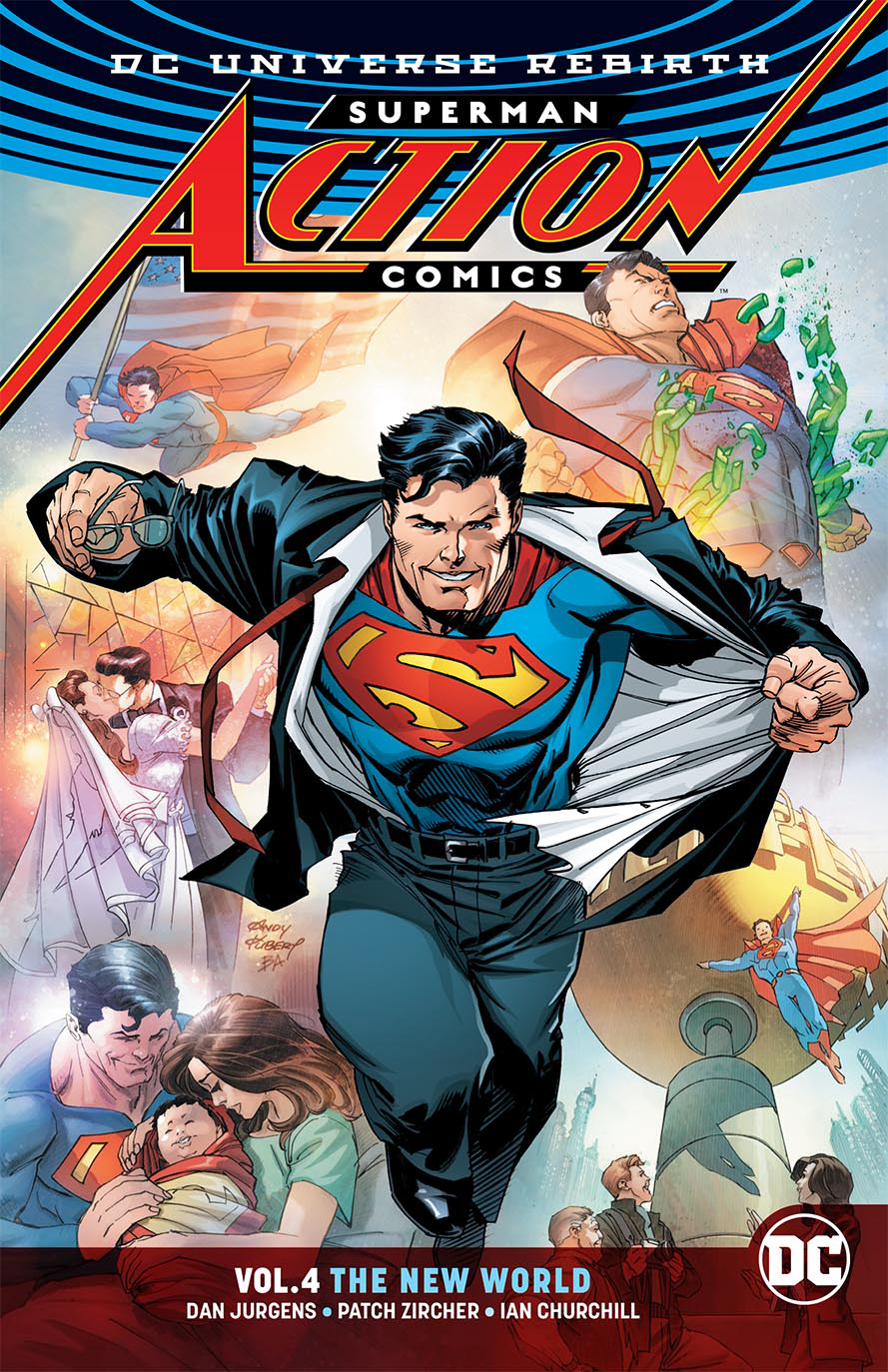SUPERMAN ACTION COMICS TP VOL 04 THE NEW WORLD