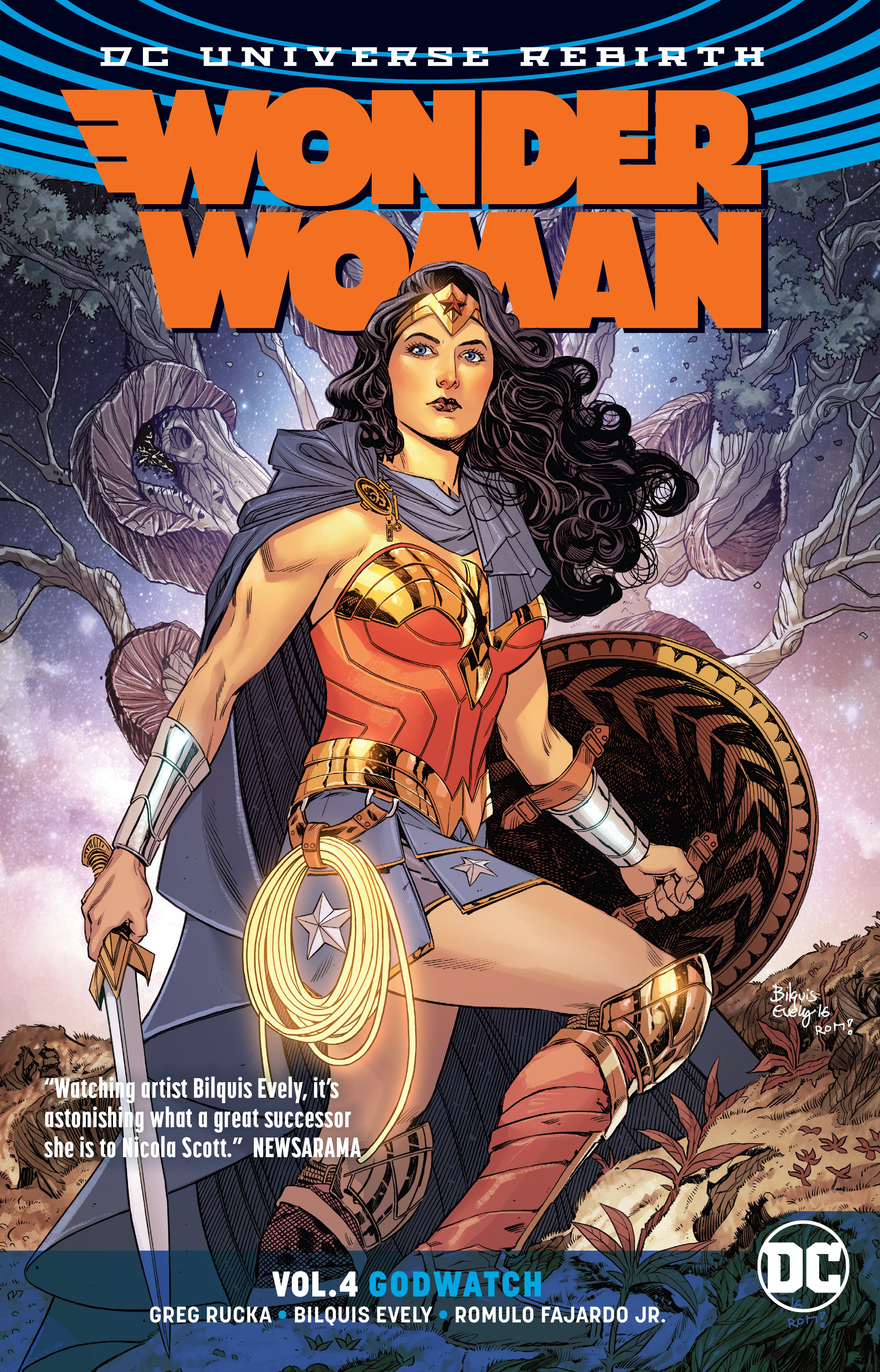 WONDER WOMAN TP VOL 04 GODWATCH