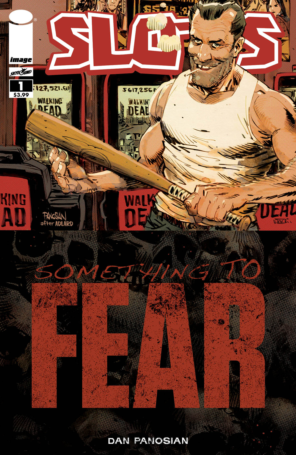 Aug170588 Slots 1 Cvr B Walking Dead 100 Tribute Var Mr