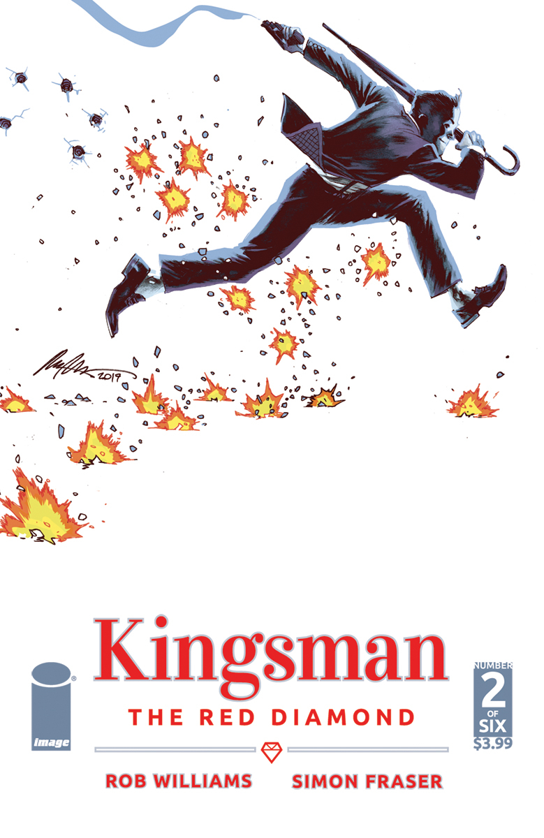 KINGSMAN RED DIAMOND #2 (OF 6) CVR A ALBUQUERQUE (MR)