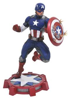 MARVEL GALLERY MARVEL NOW CAPTAIN AMERICA PVC FIG
